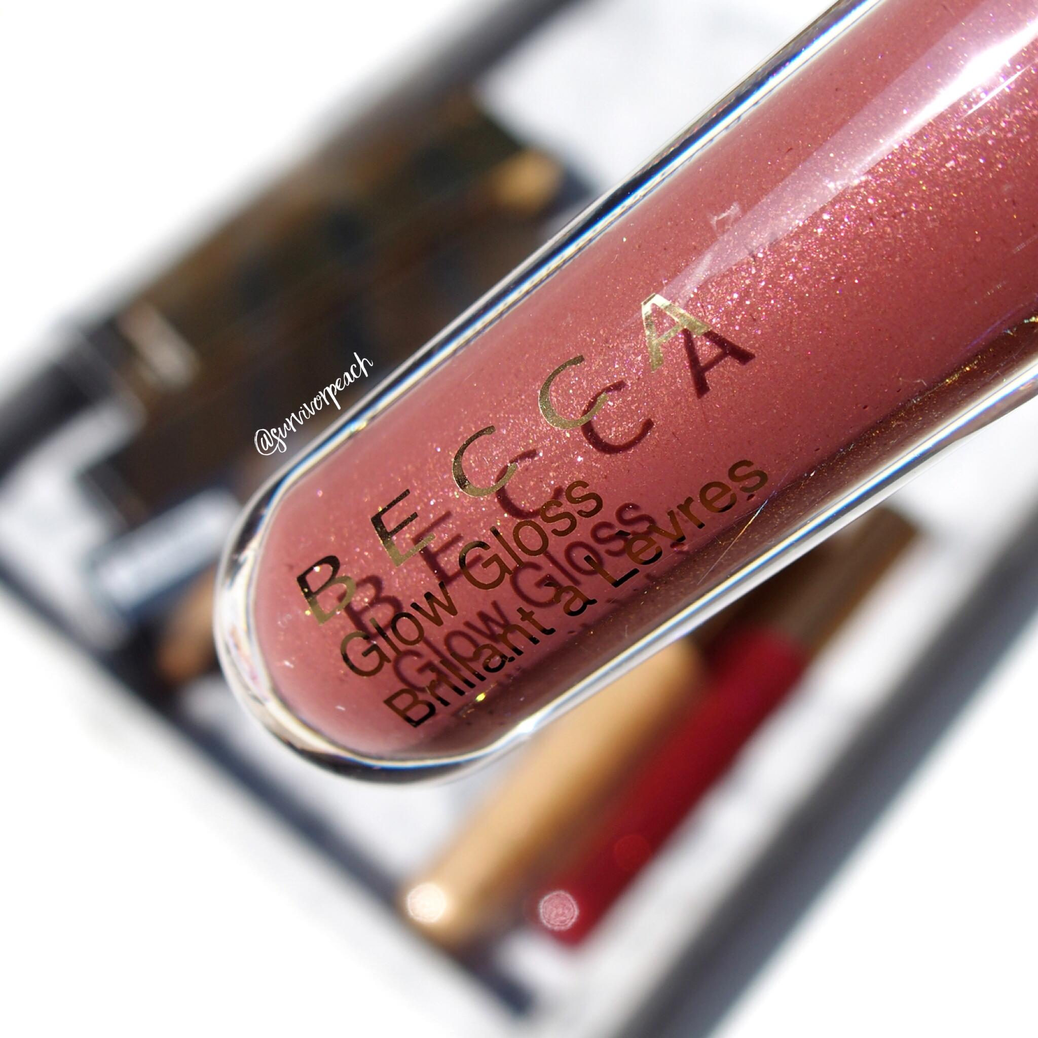 Becca Volcanic Goddess Glow Gloss Molten Mauve