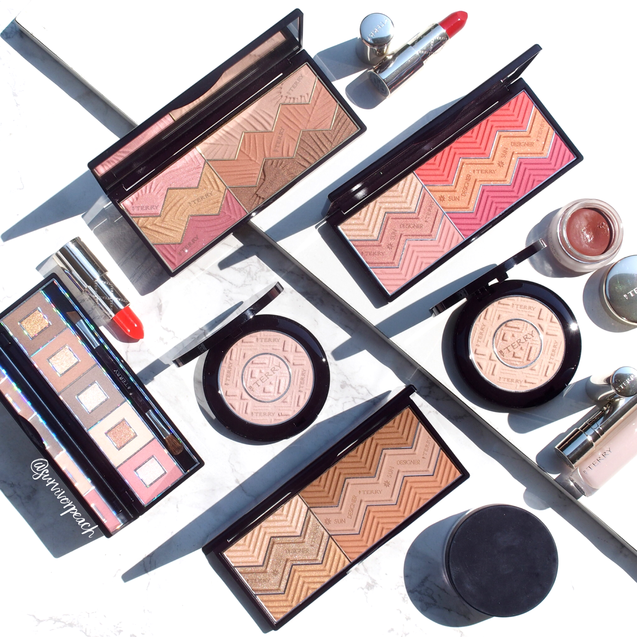 My By Terry makeup collection