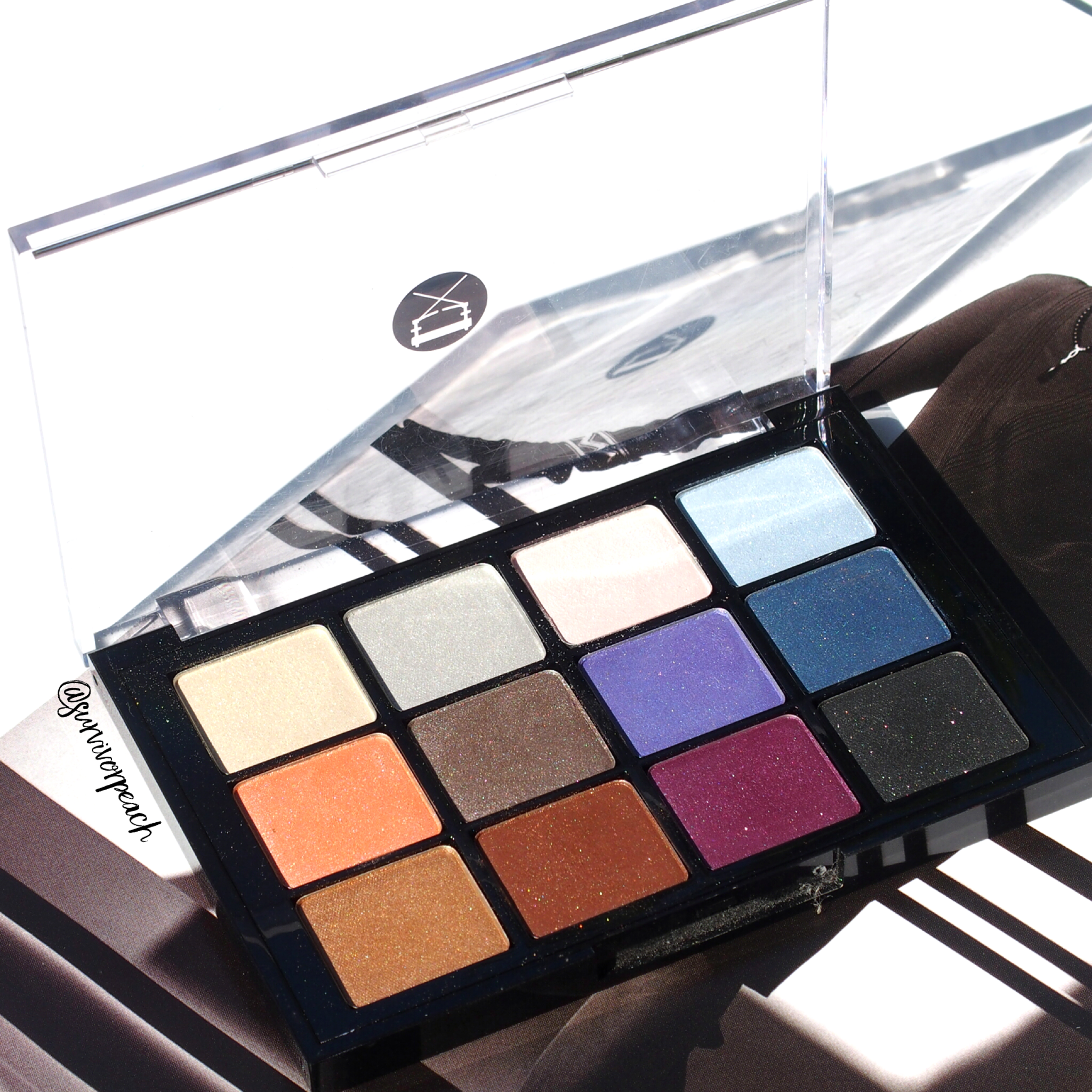 Viseart Bridal Satin Palette