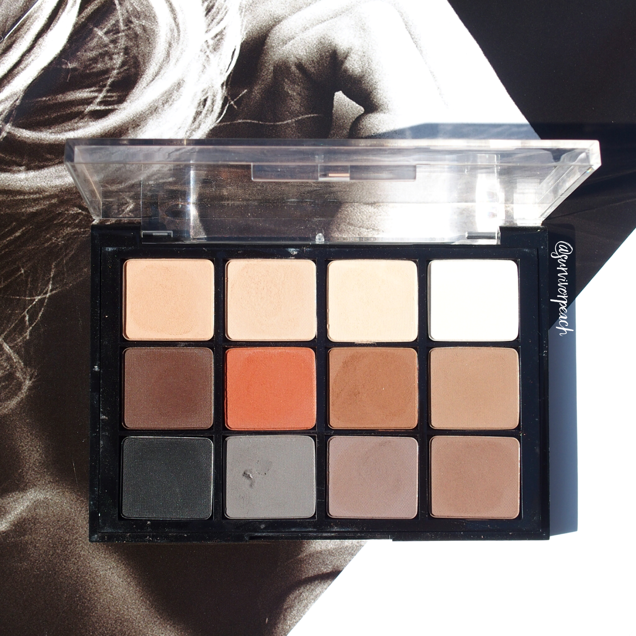 Viseart Natural Matte Palette