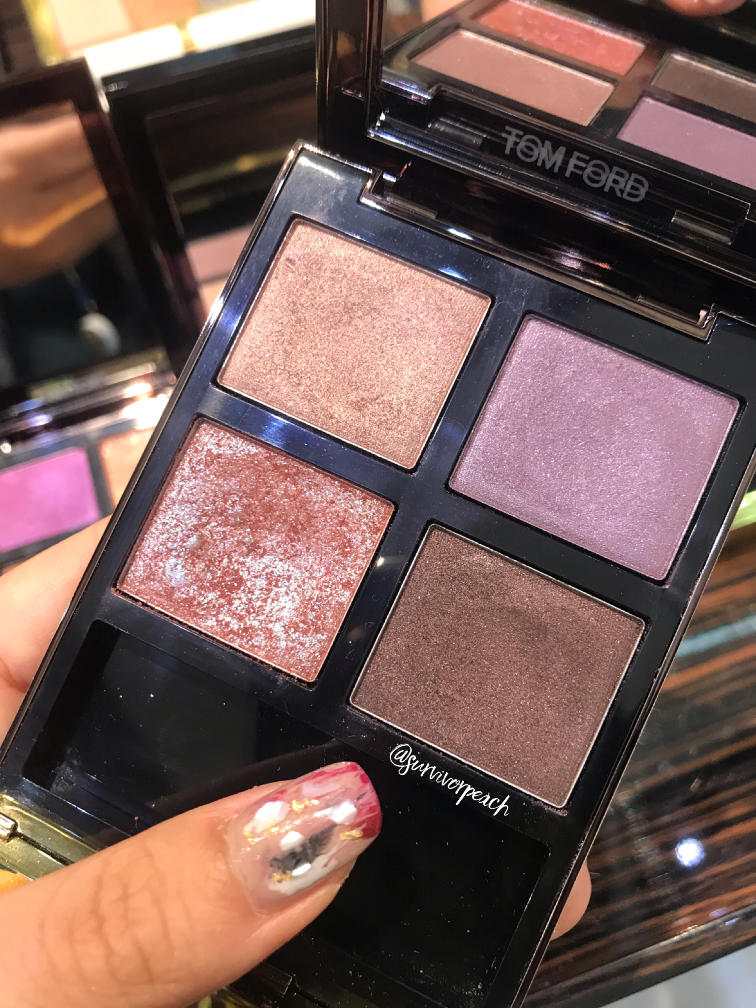Tom Ford Eye Quad in 25 Pretty Baby