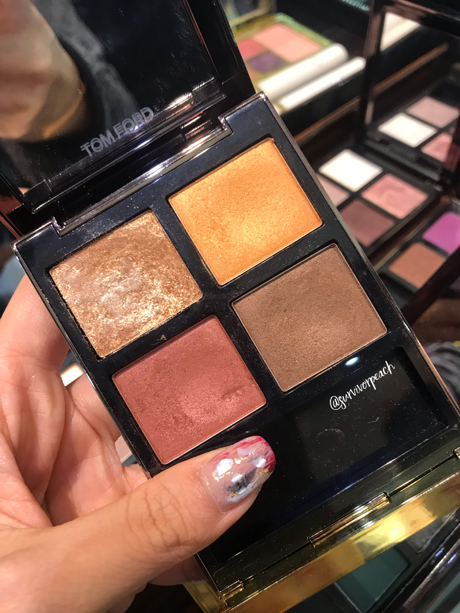 Tom Ford Eye Quad in Leopard Sun