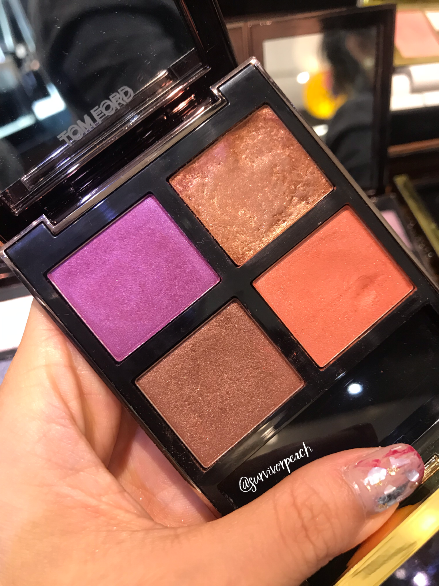 Tom Ford Eye Quad in African Violet