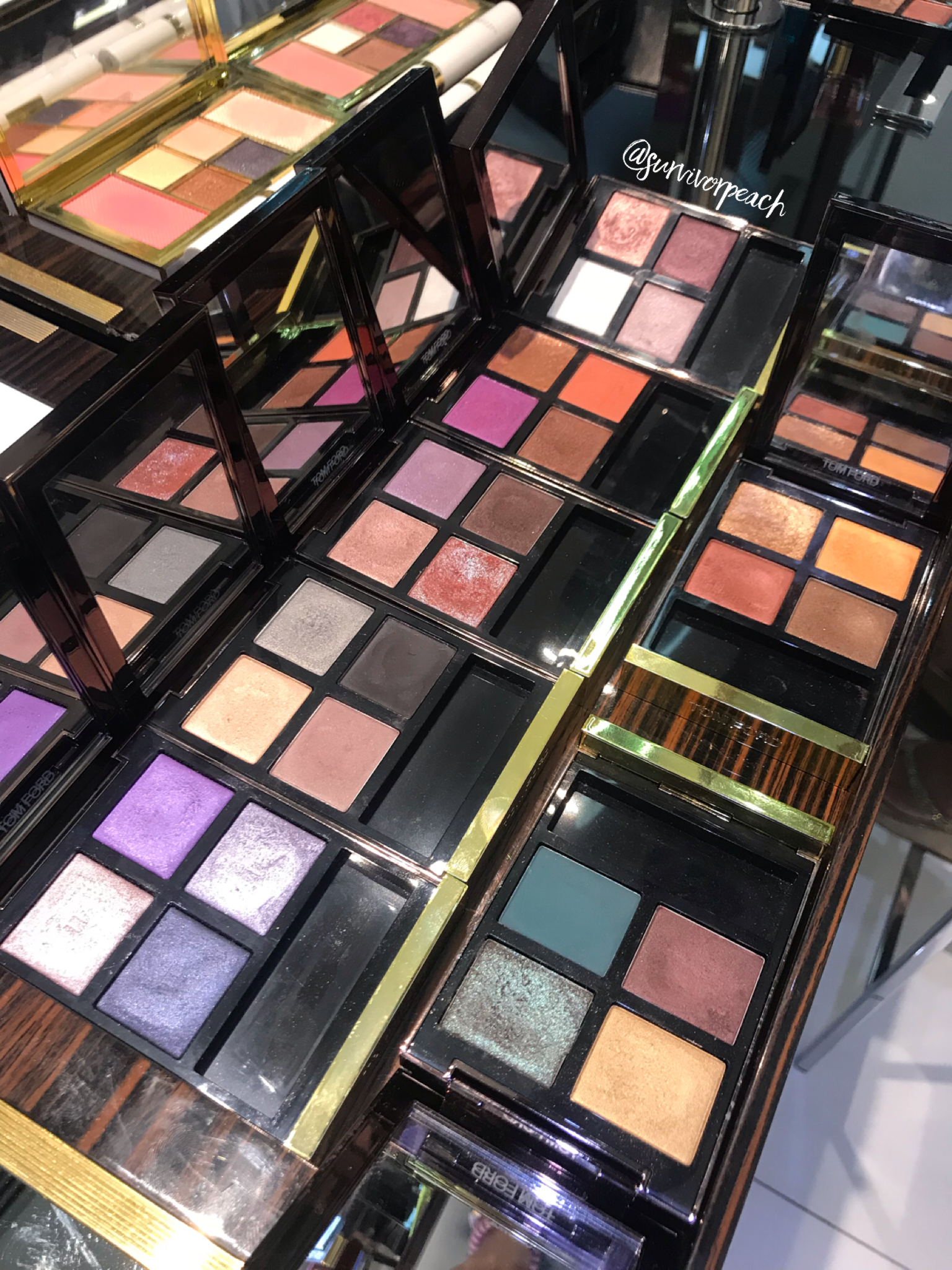 Tom Ford new Eye Quads