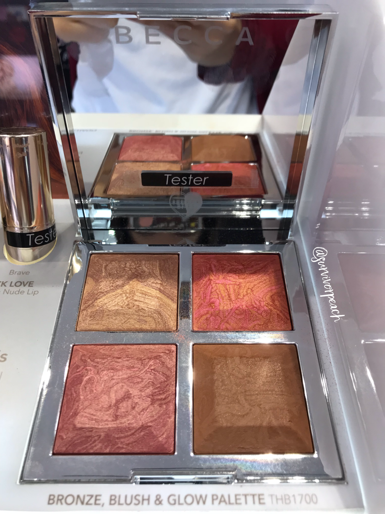 BECCA x Khloé Kardashian & Malika Haqq Bronze, Blush & Glow Palette in  Made With Love By Malika