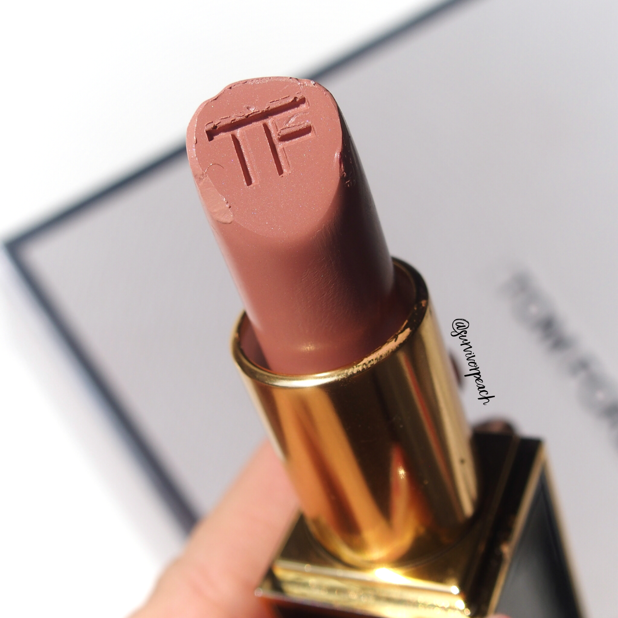 Tom Ford Lipsticks in First Time