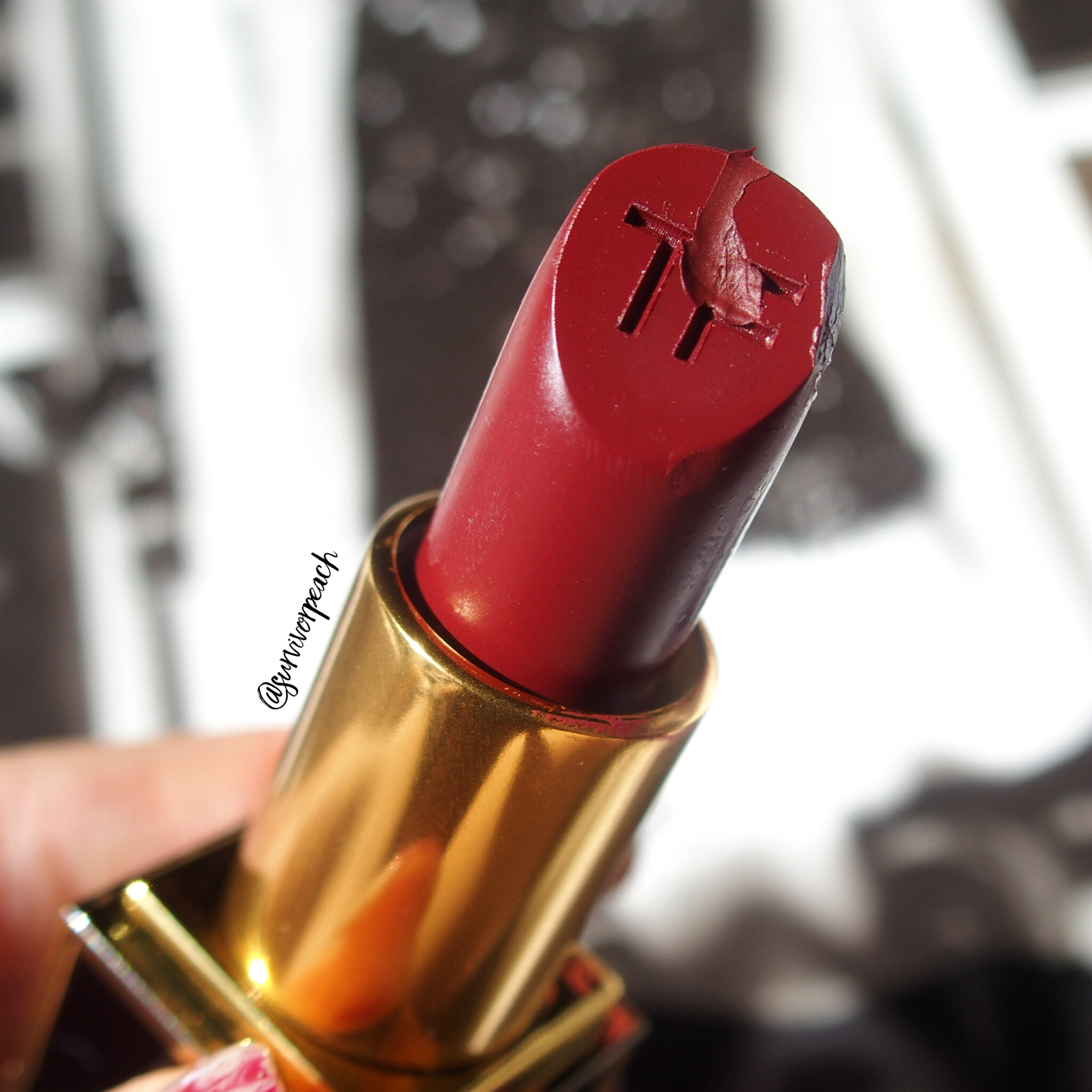 Tom Ford Matte Lipsticks in Velvet Cherry