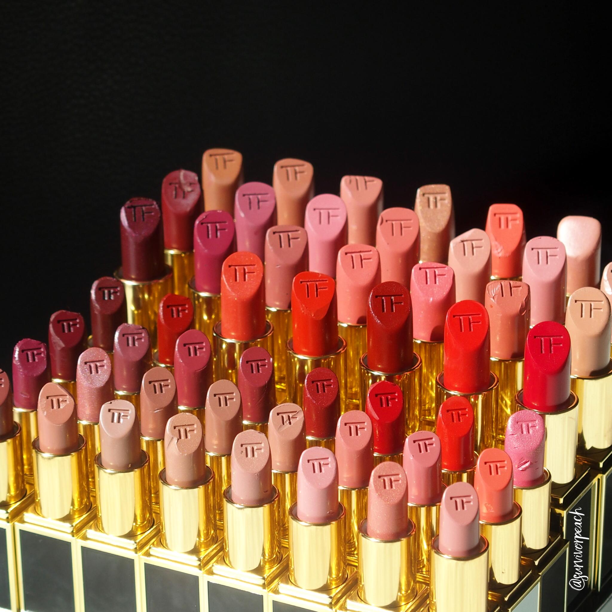 Tom Ford Lipsticks: Creams, Mattes, Girls and Boys