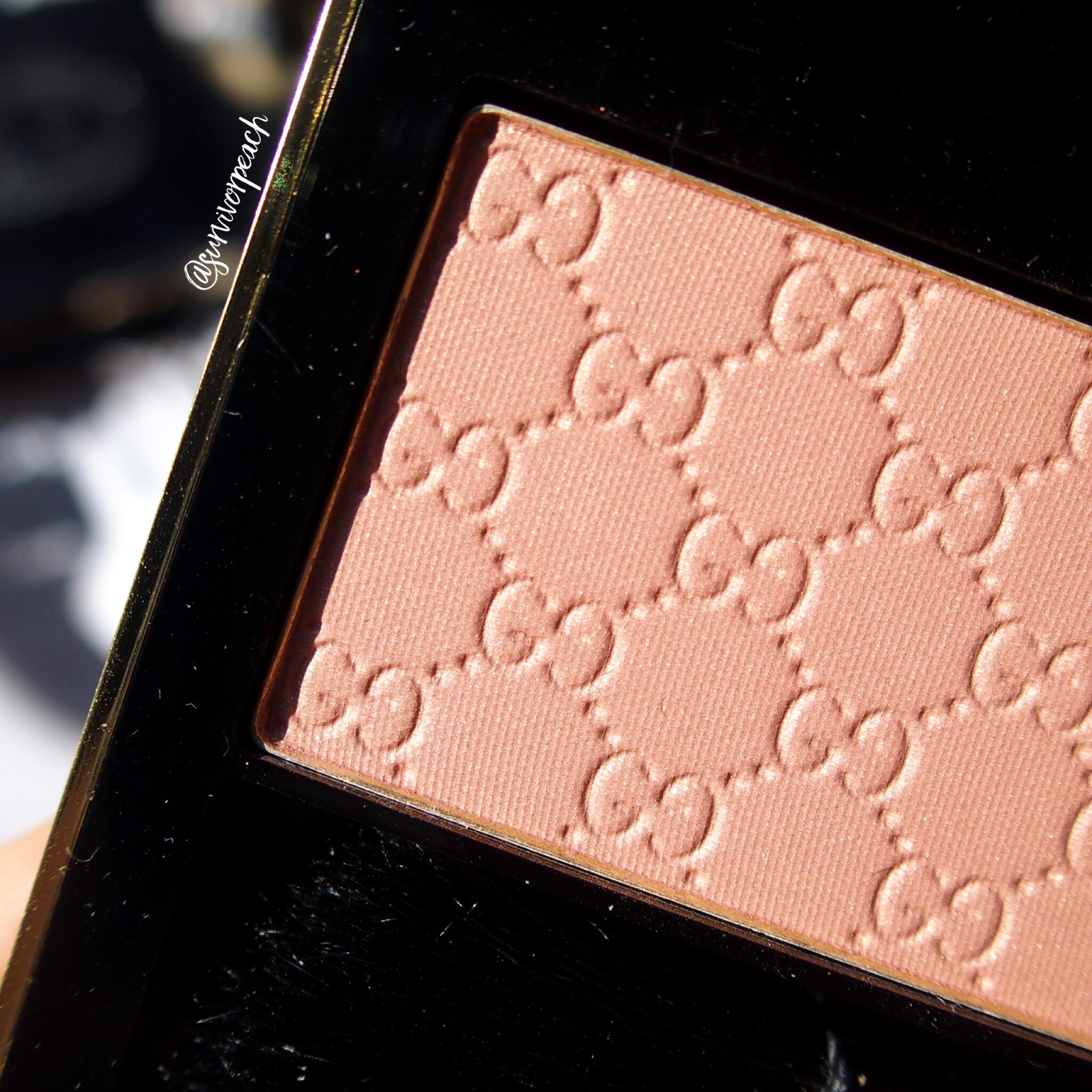 Gucci Beauty Sheer Blushing Powder in Spicy Petal
