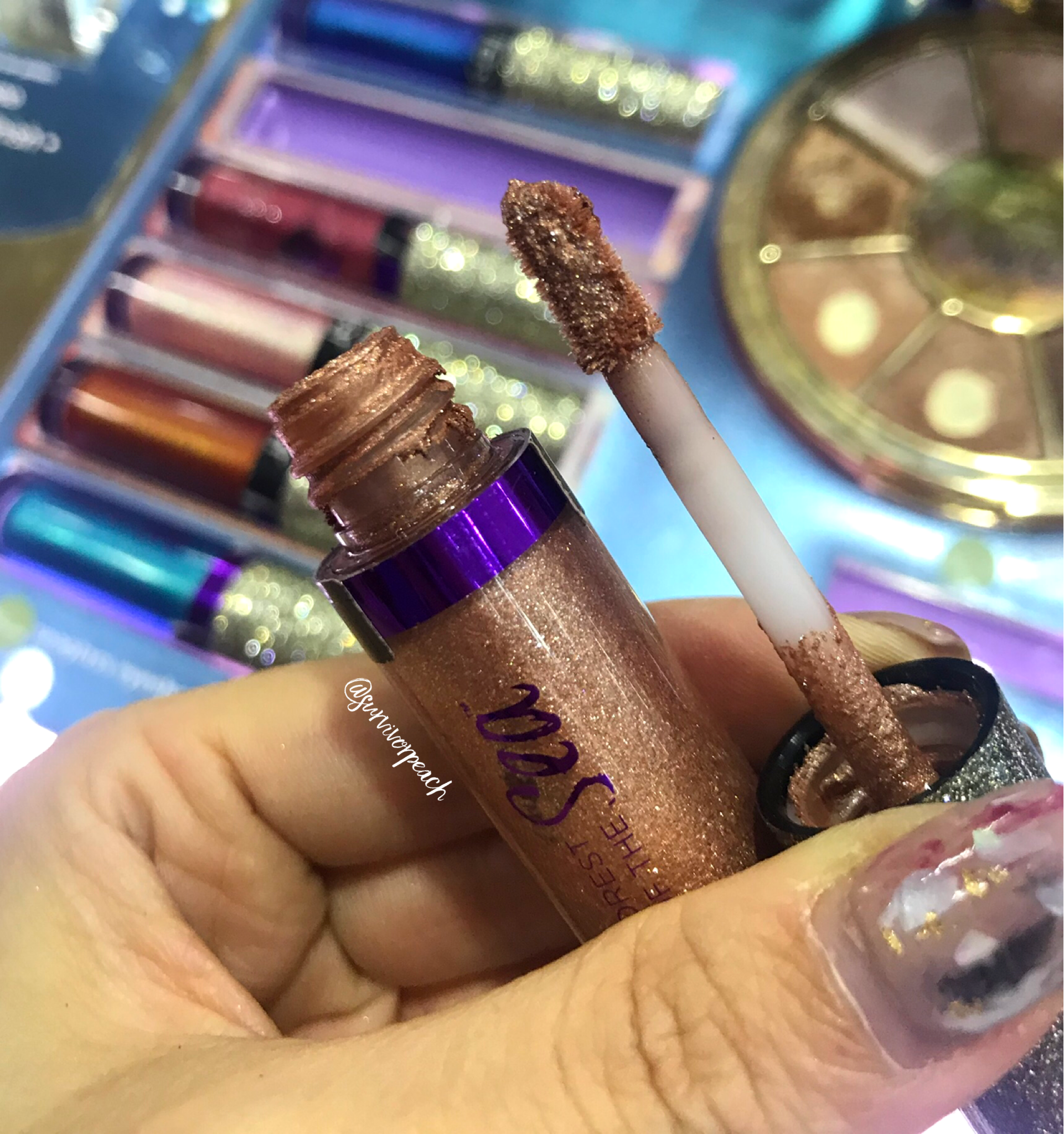 Tarte Rainforest of the Sea Seaglass Eyeshadow in shade Suite Life