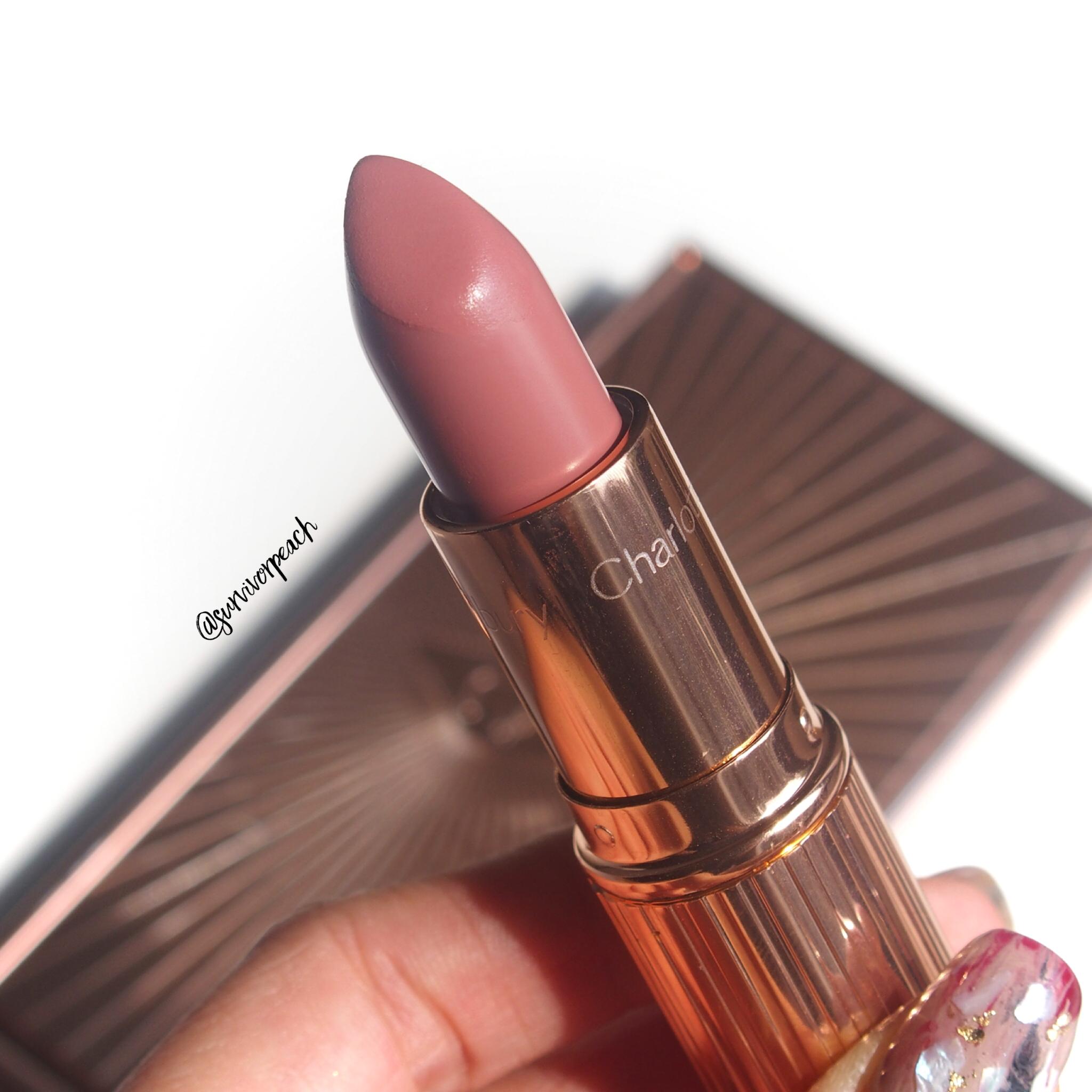 Charlotte Tilbury K.I.S.S.I.N.G Lipsticks in shade American Sweetheart