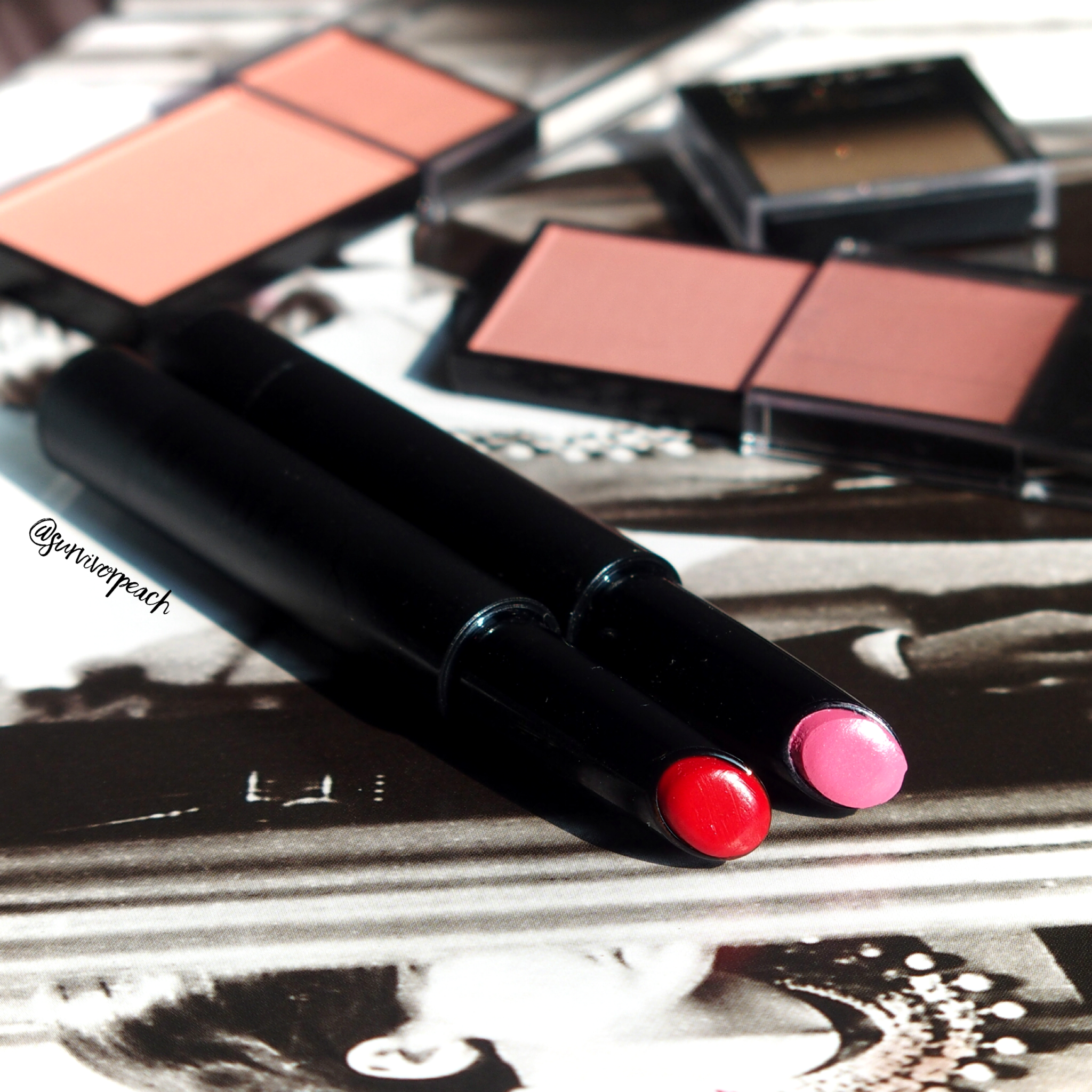 Lipslique   in shade Pom Pon and Rubis
