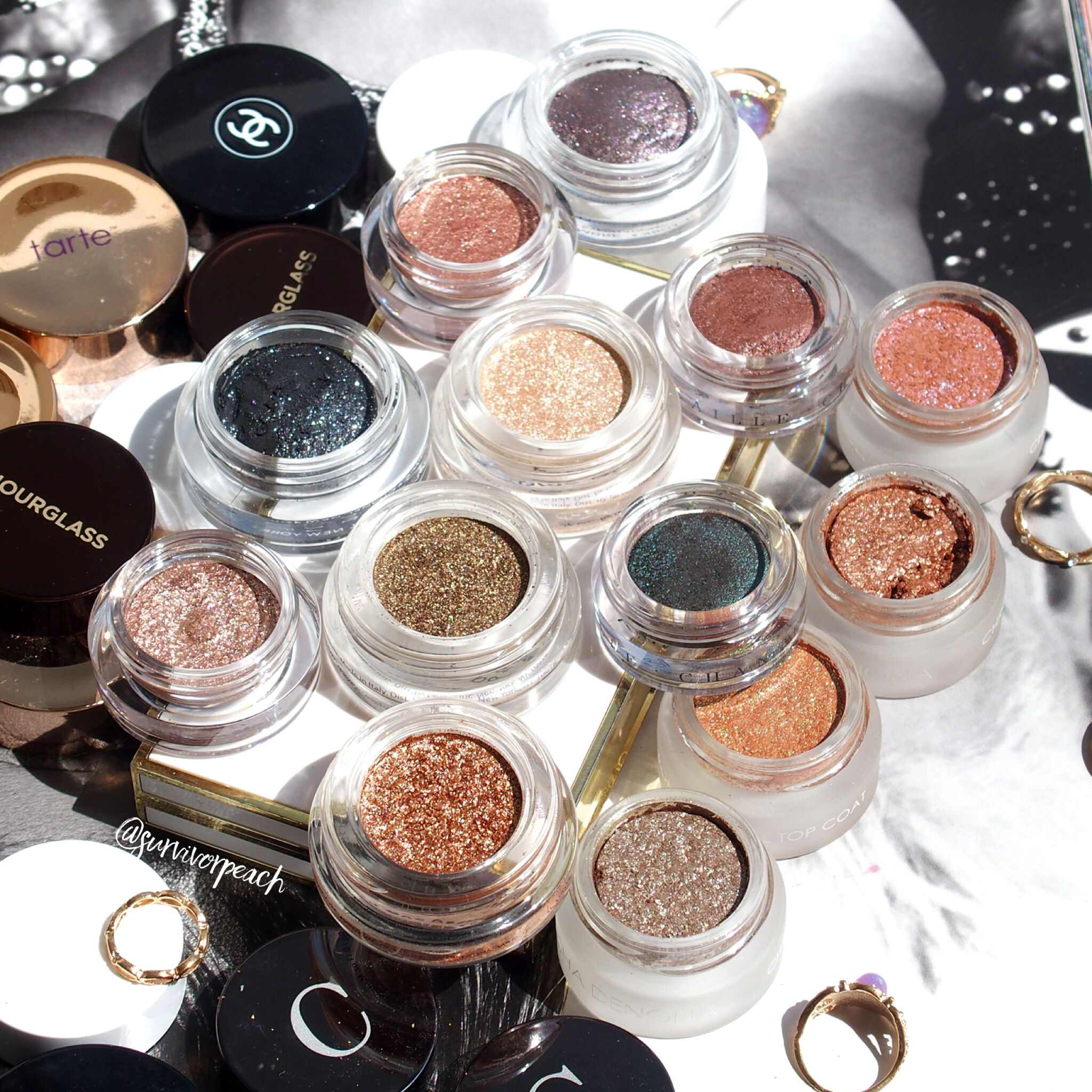My Eyeshadow pots collection