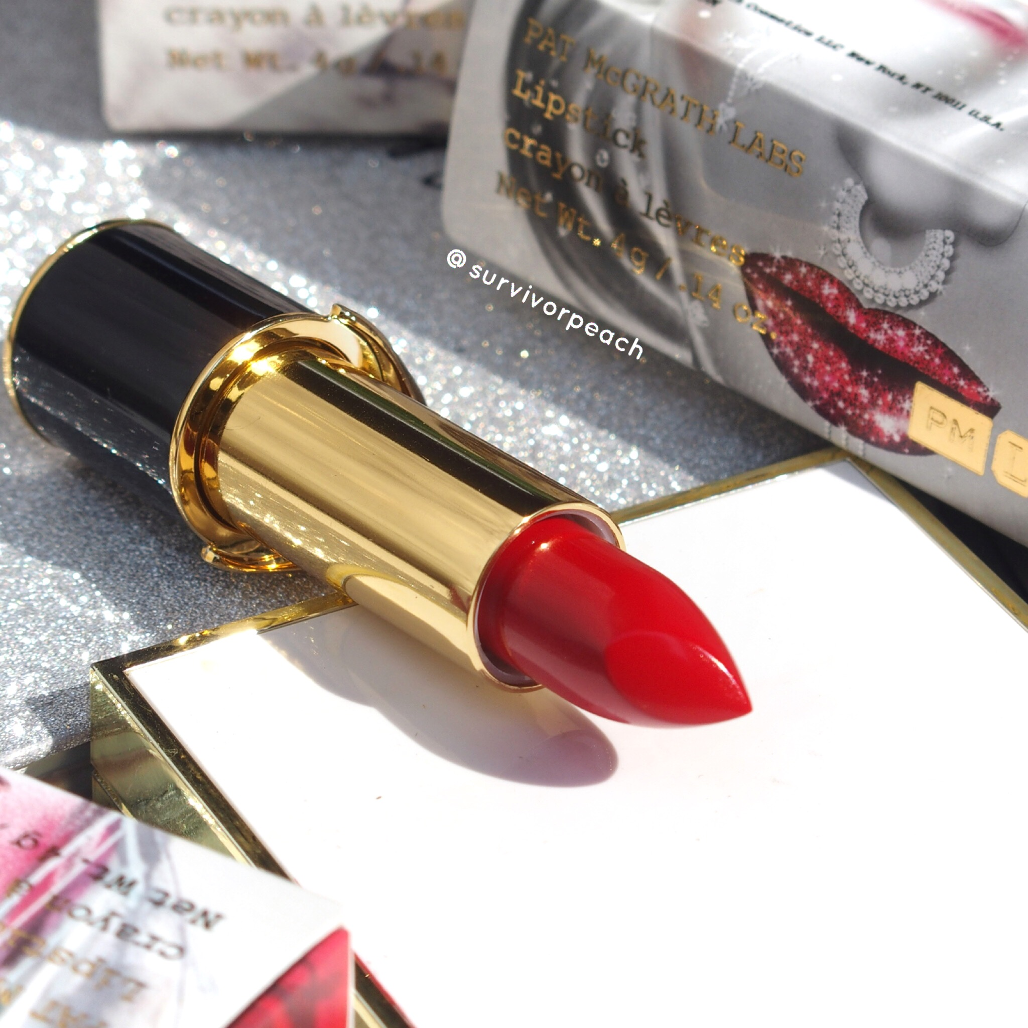 Pat McGrath Labs Luxe Trance Lipsticks in shade McGrath Muse