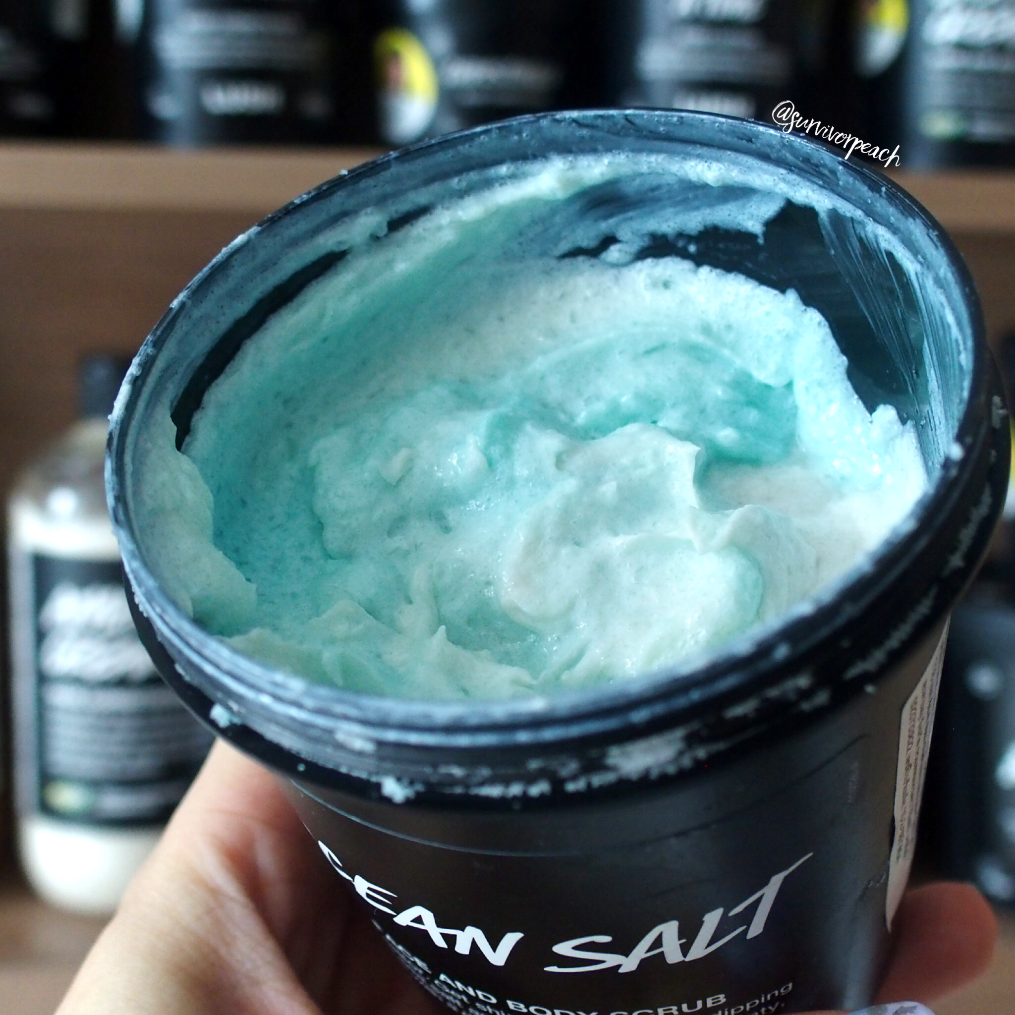 Lush Ocean Salt Face and Body Scrub