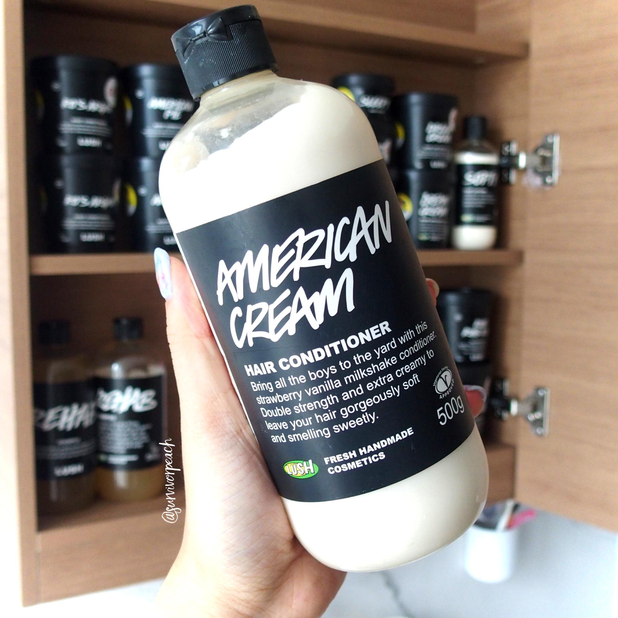 Lush American Cream Conditioner.