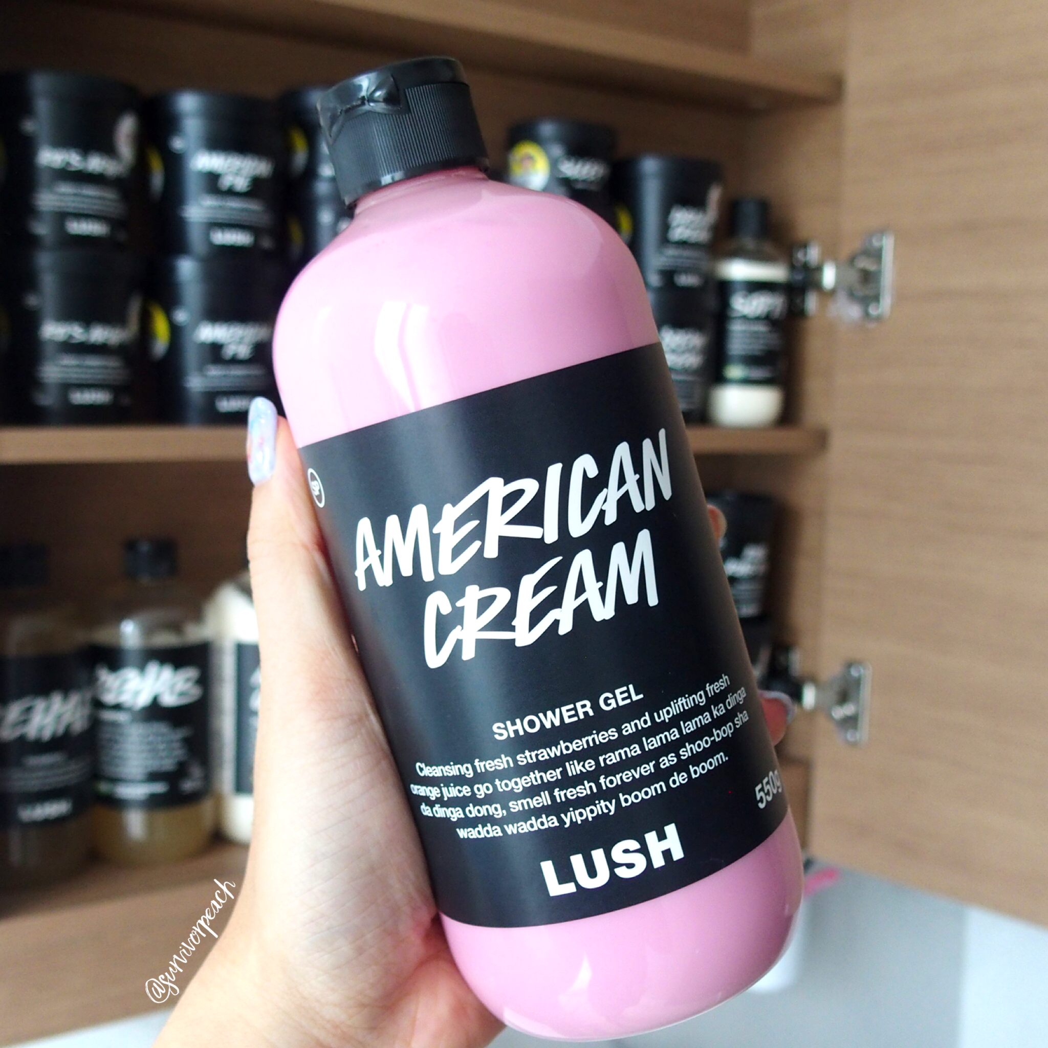 Lush American Cream Shower Gel