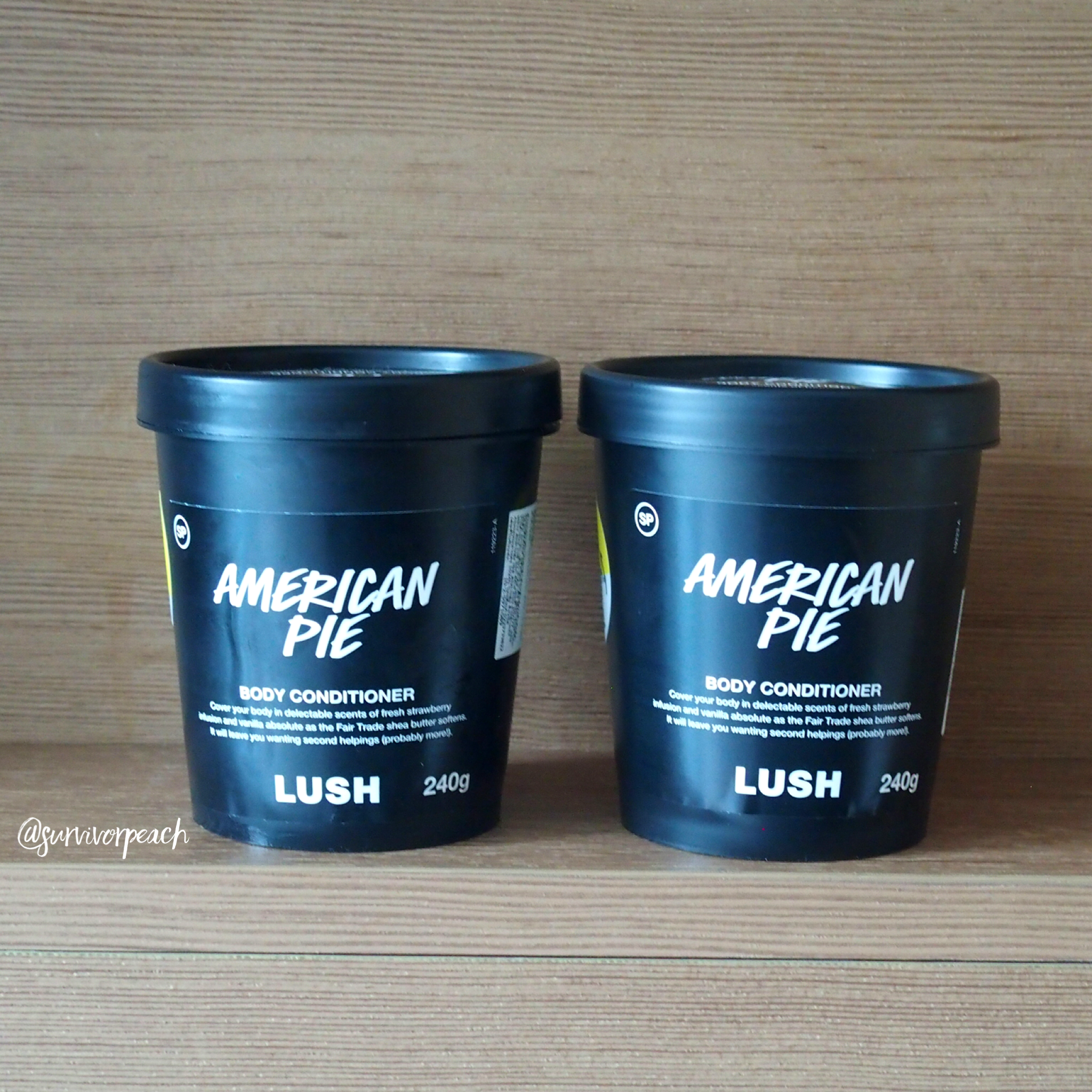 Lush American Pie Body Conditioner
