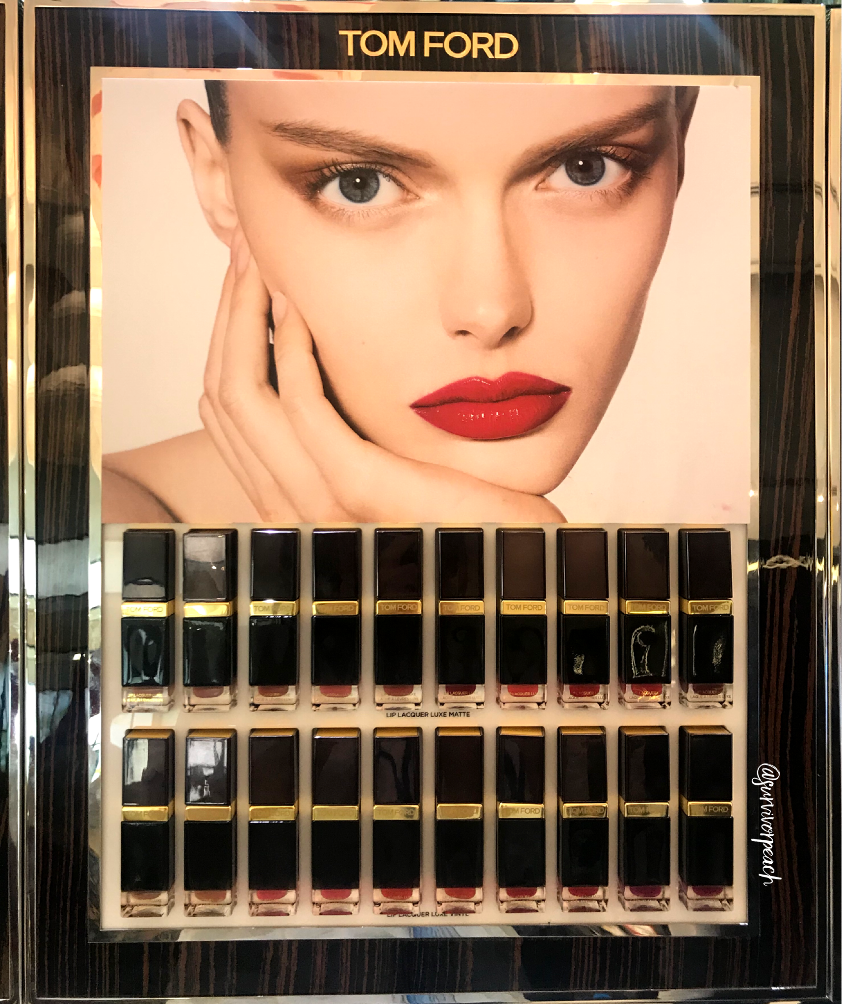 Tomford Lip Lacquer Luxe Matte and Lip Luxe Vinyl