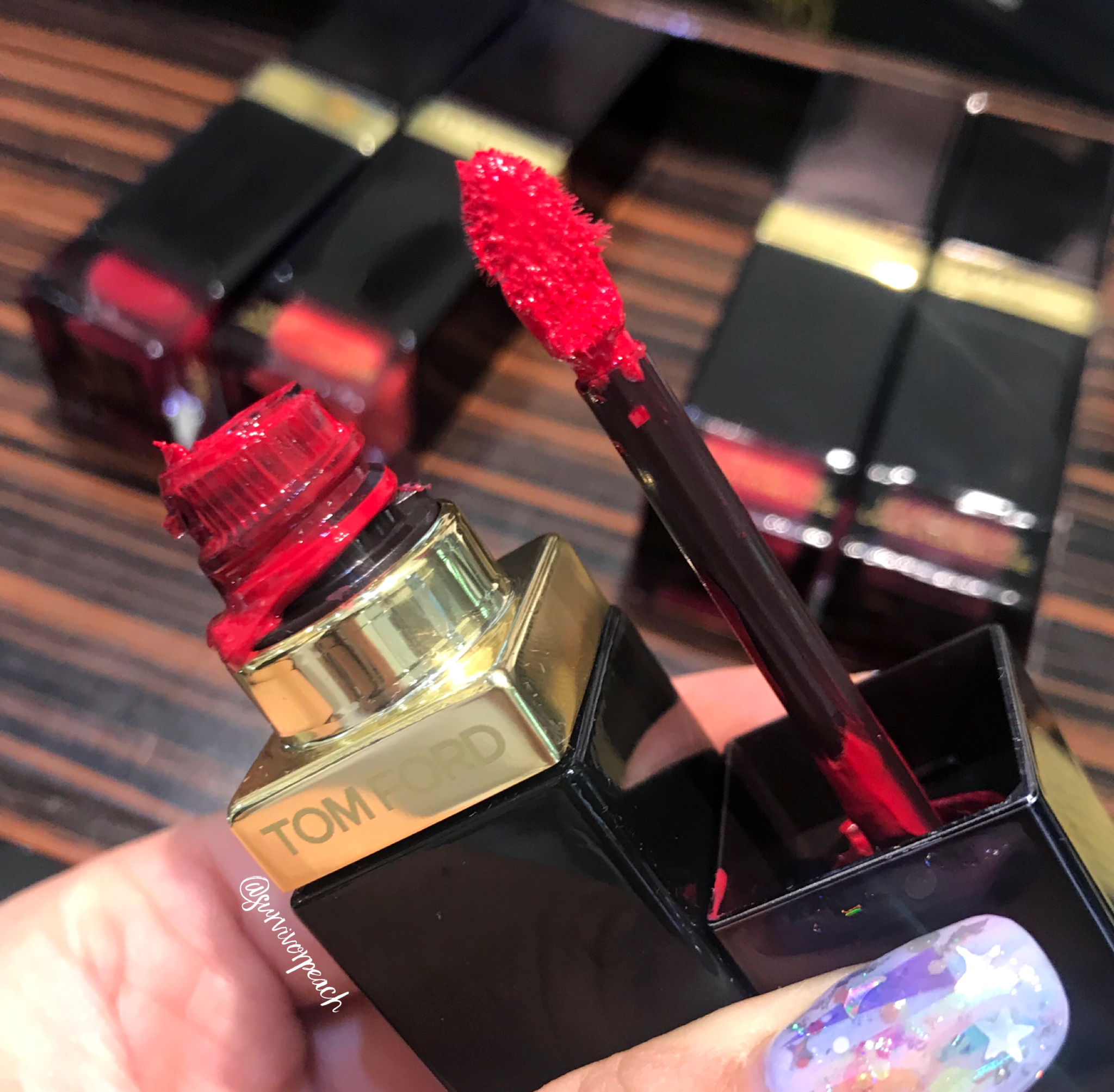 Tomford Lip Lacquer Luxe Matte in shade 08 Over Power