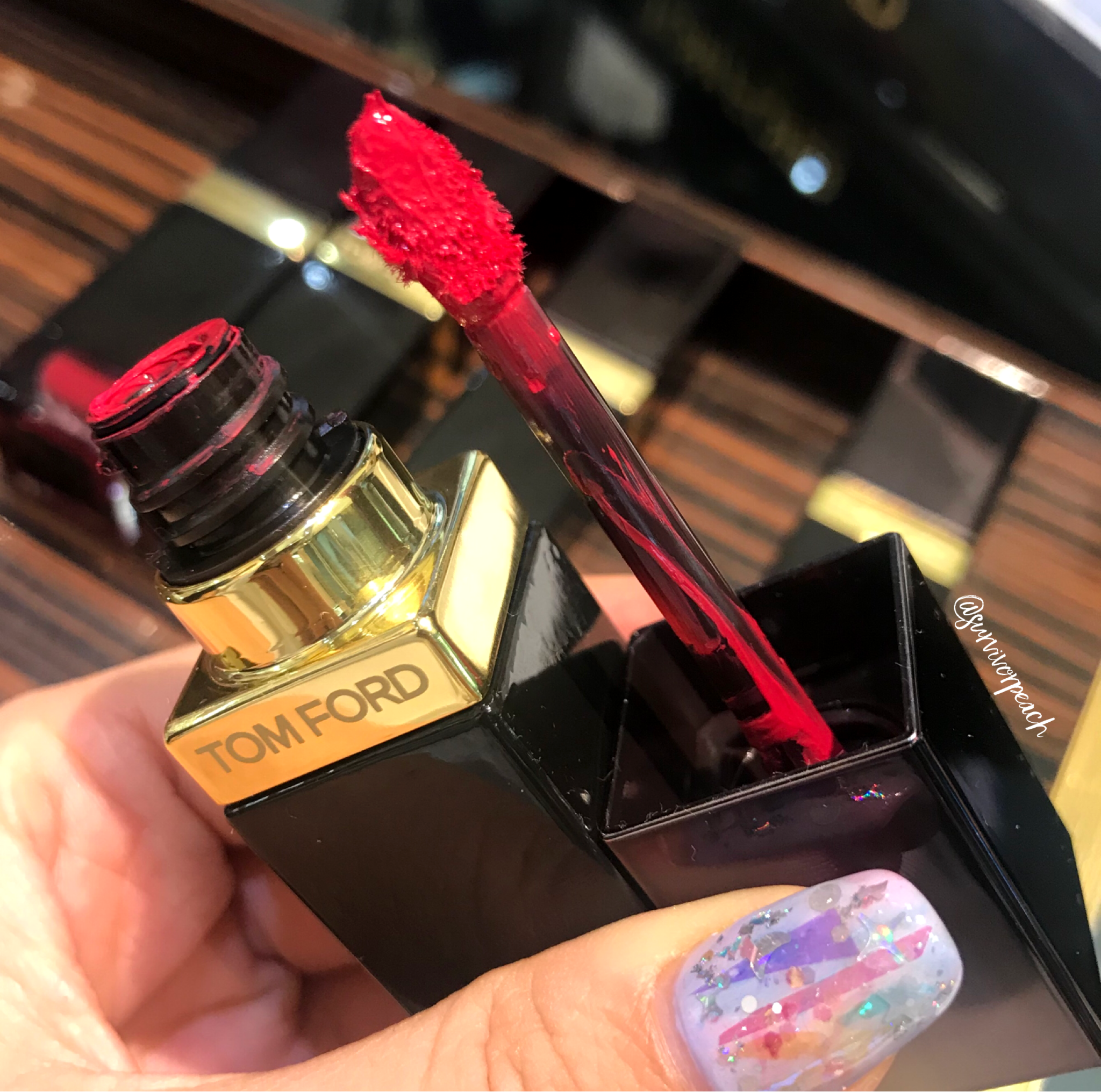 Tomford Lip Lacquer Luxe Matte in shade 09 Amaranth