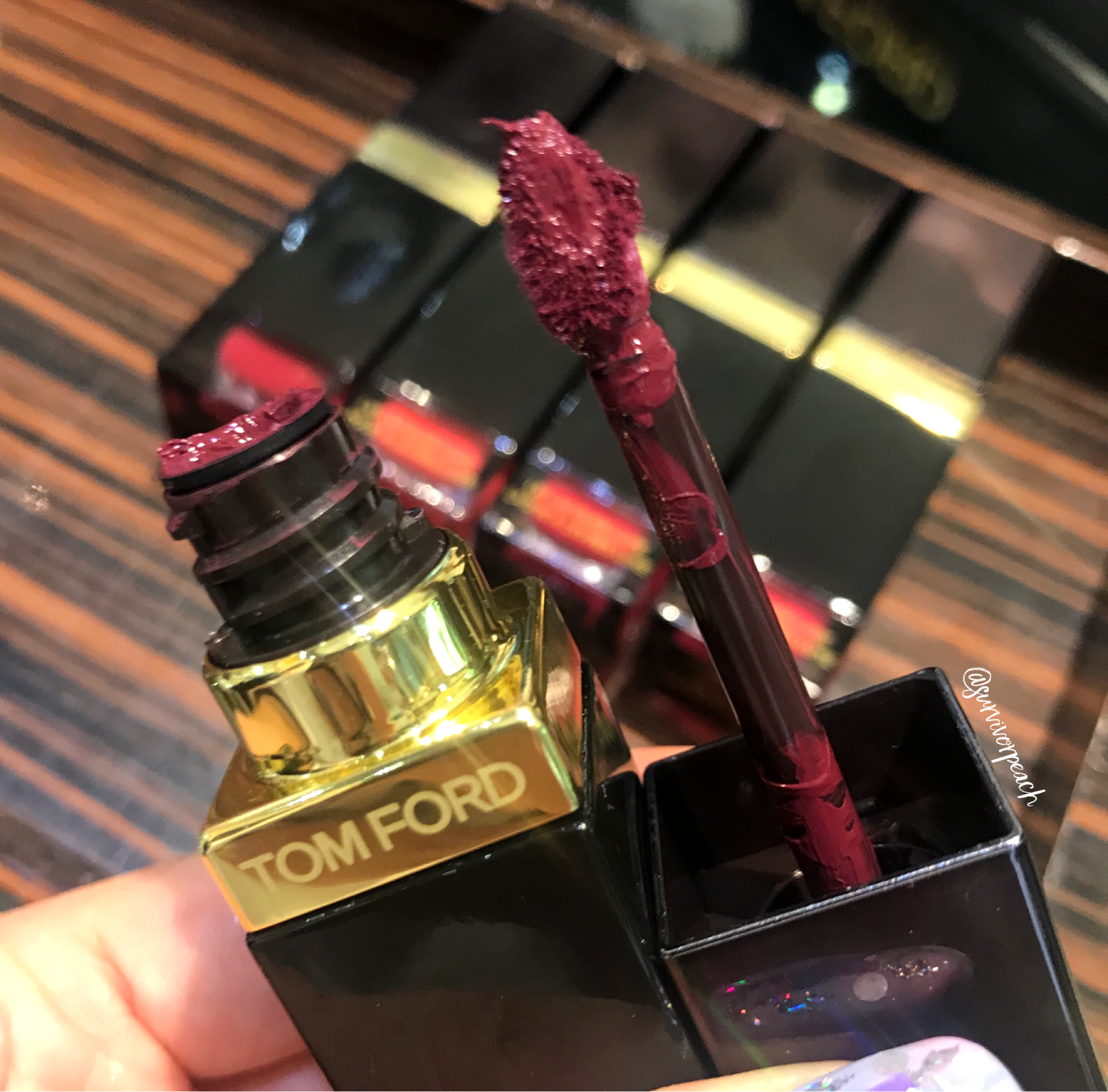 Tomford Lip Lacquer Luxe Matte in shade 10 Beau Jolais