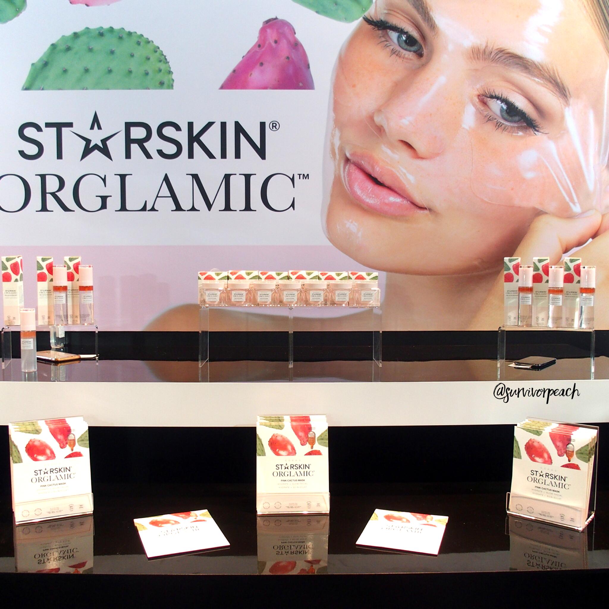 Starskin Orglamic skincare range