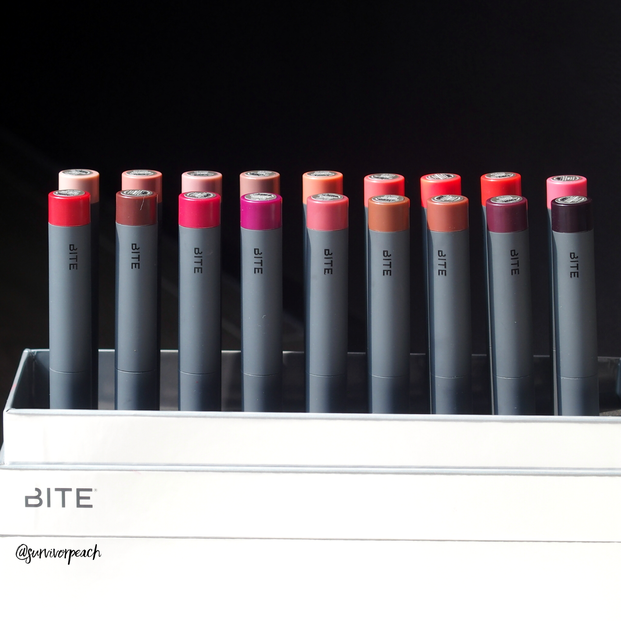Bite Beauty Matte Creme Lip Crayon Vault