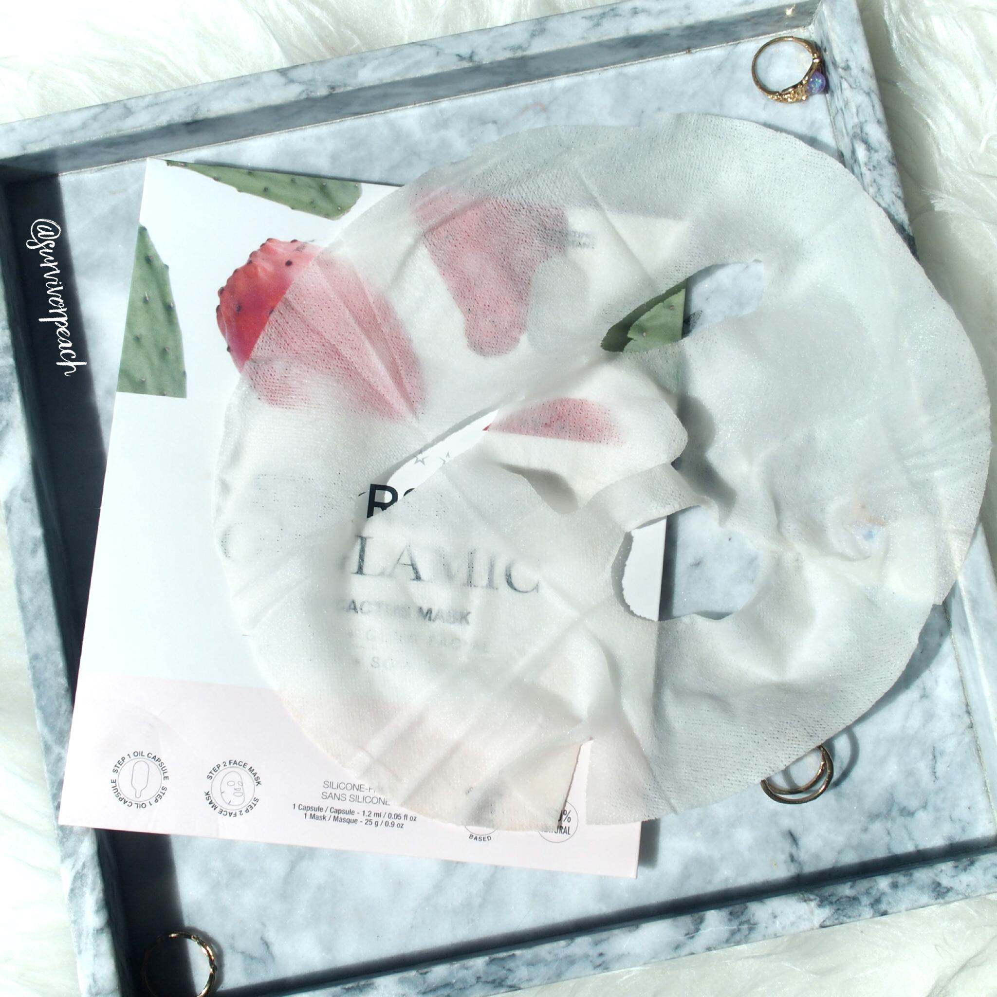 Starskin Orglamic Pink Cactus Oil Mask