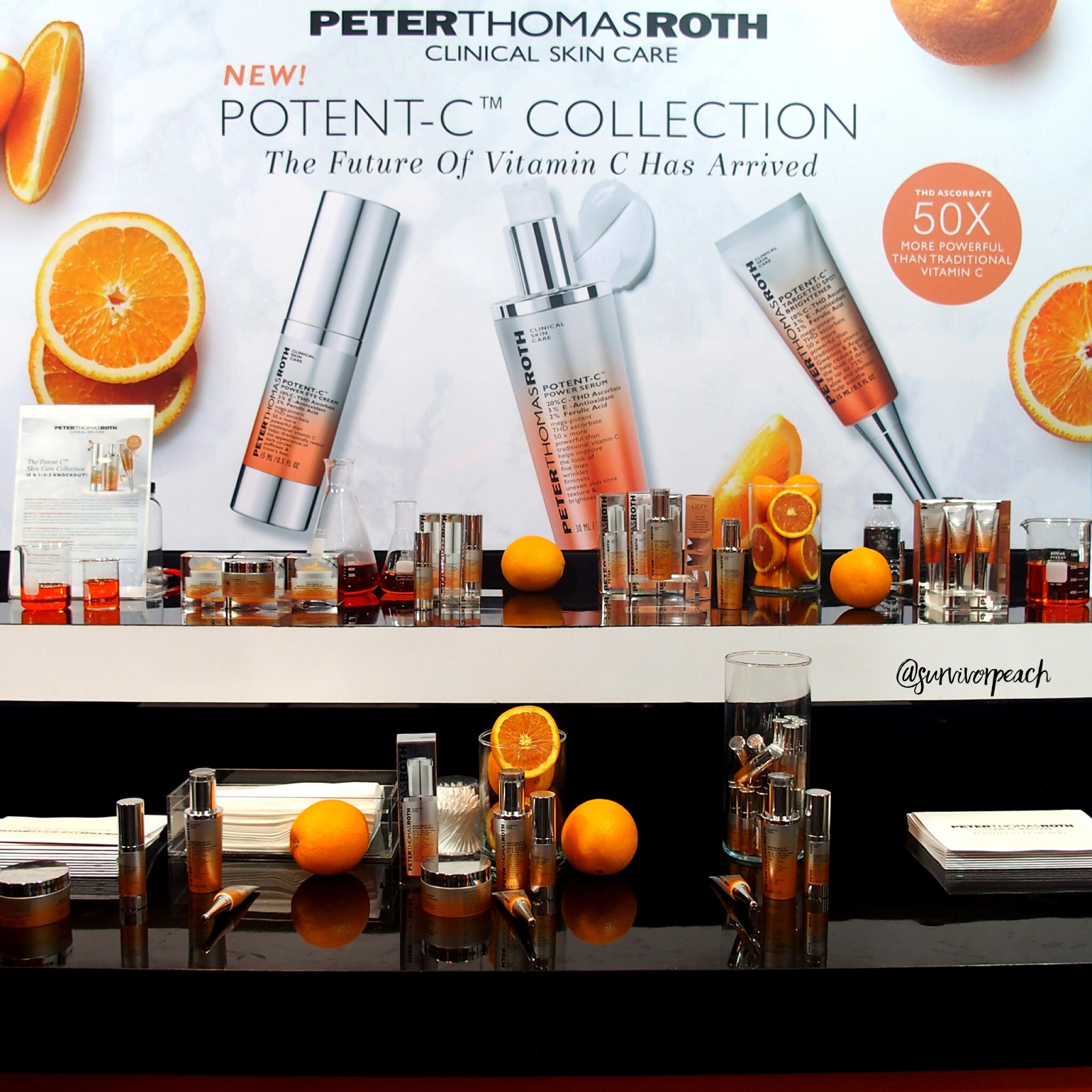Peter Thomas Roth Potent-C Skincare Range