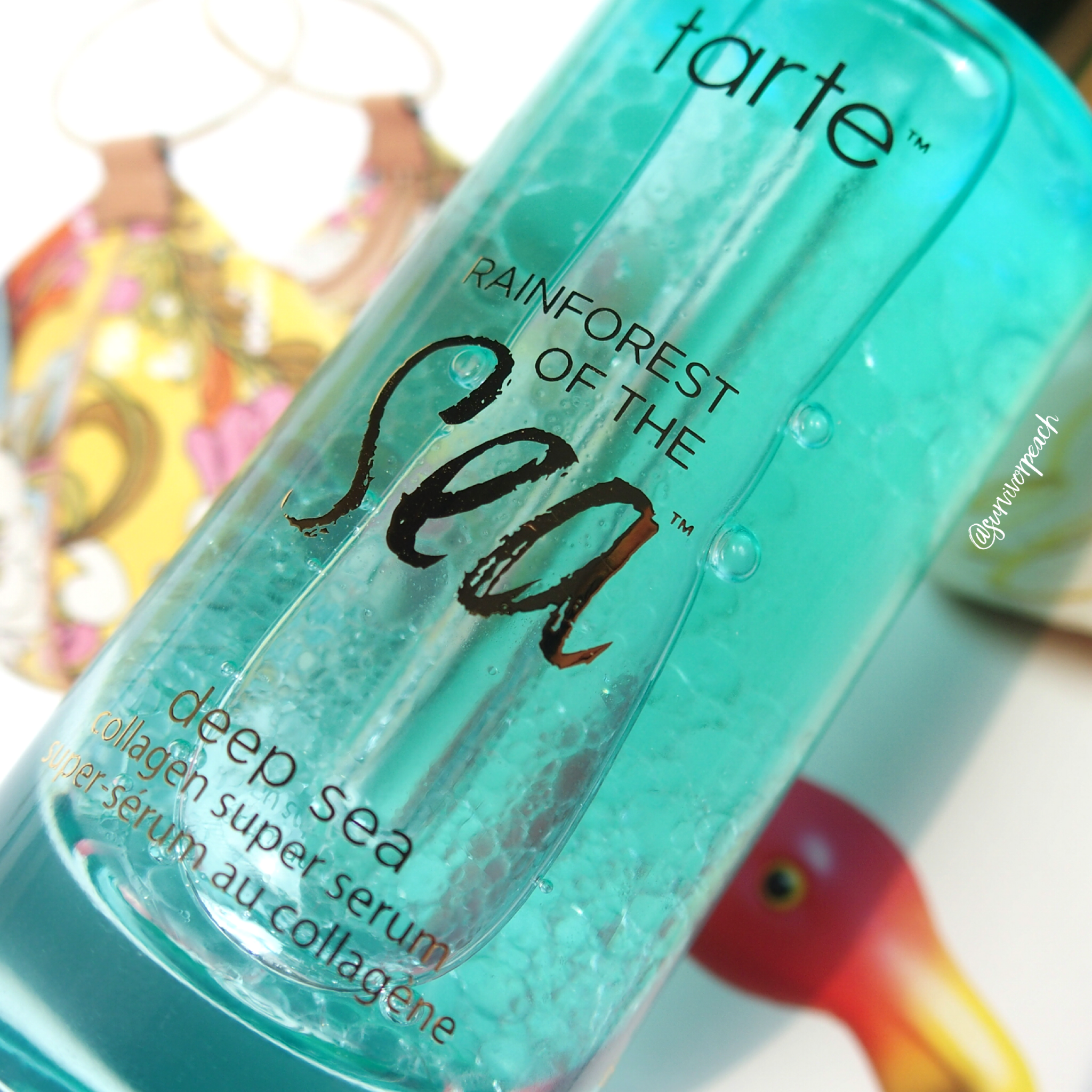 Tarte Rainforest of the Sea™ deep sea collagen super serum