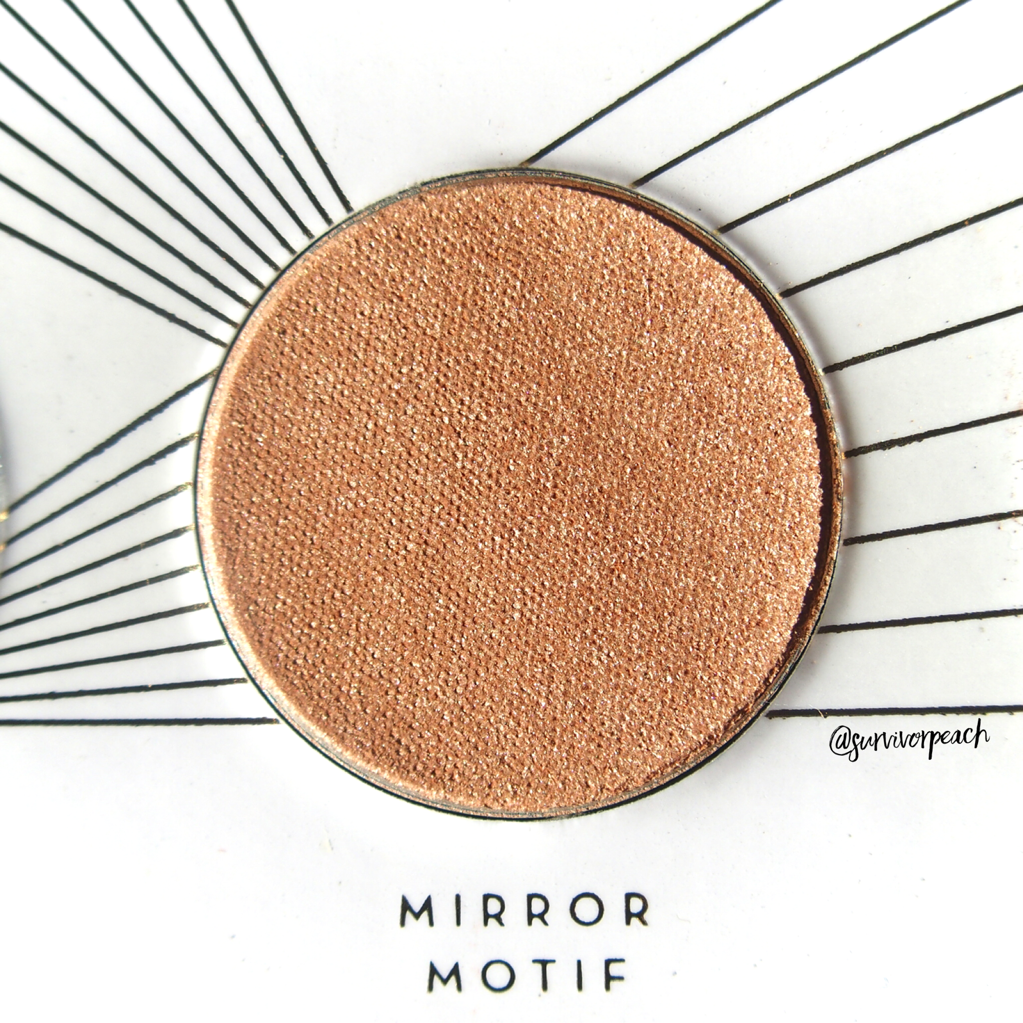 Zoeva Screen Queen Eyeshadow palette - Mirror Motiv