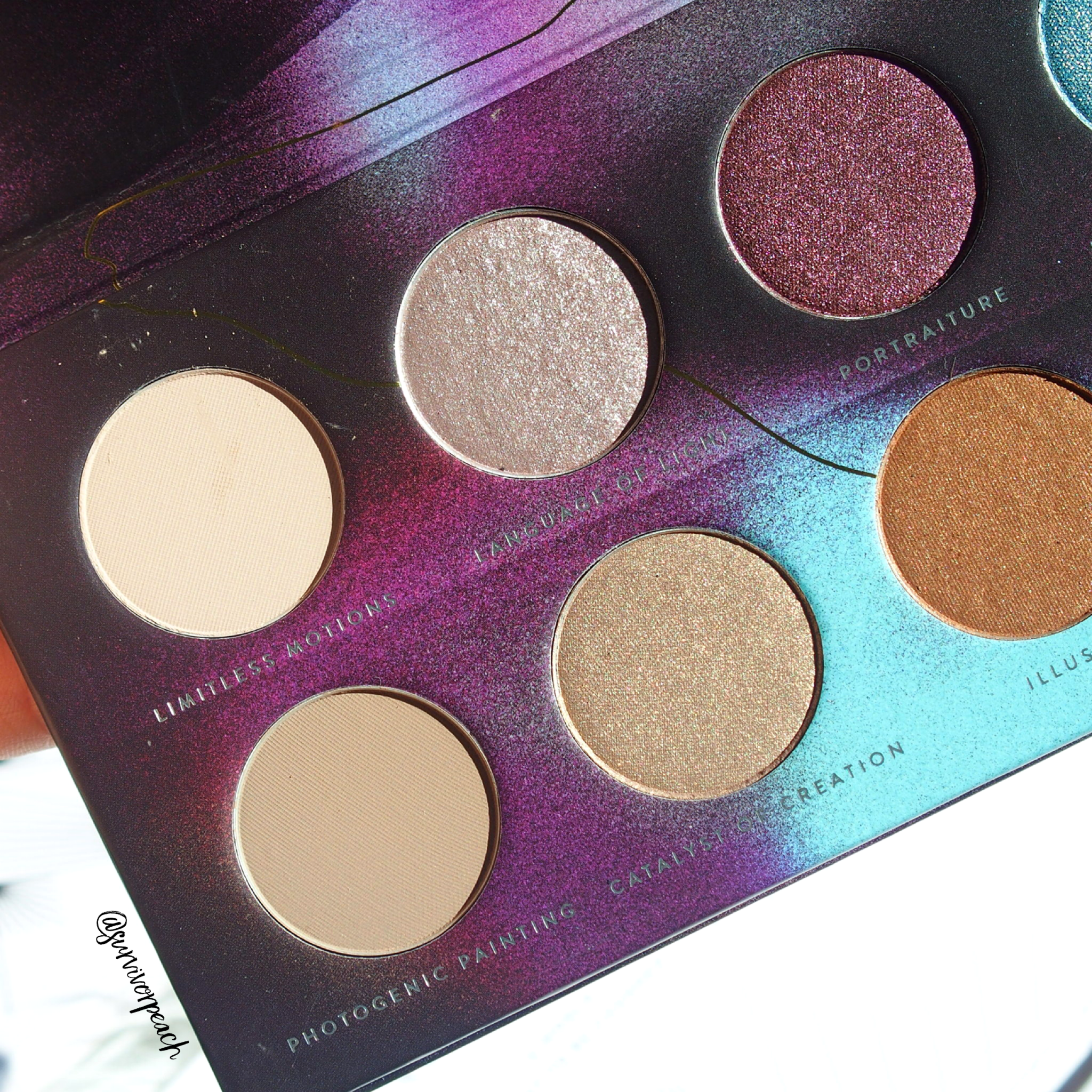 Zoeva Eclectric Eyes Eyeshadow palette