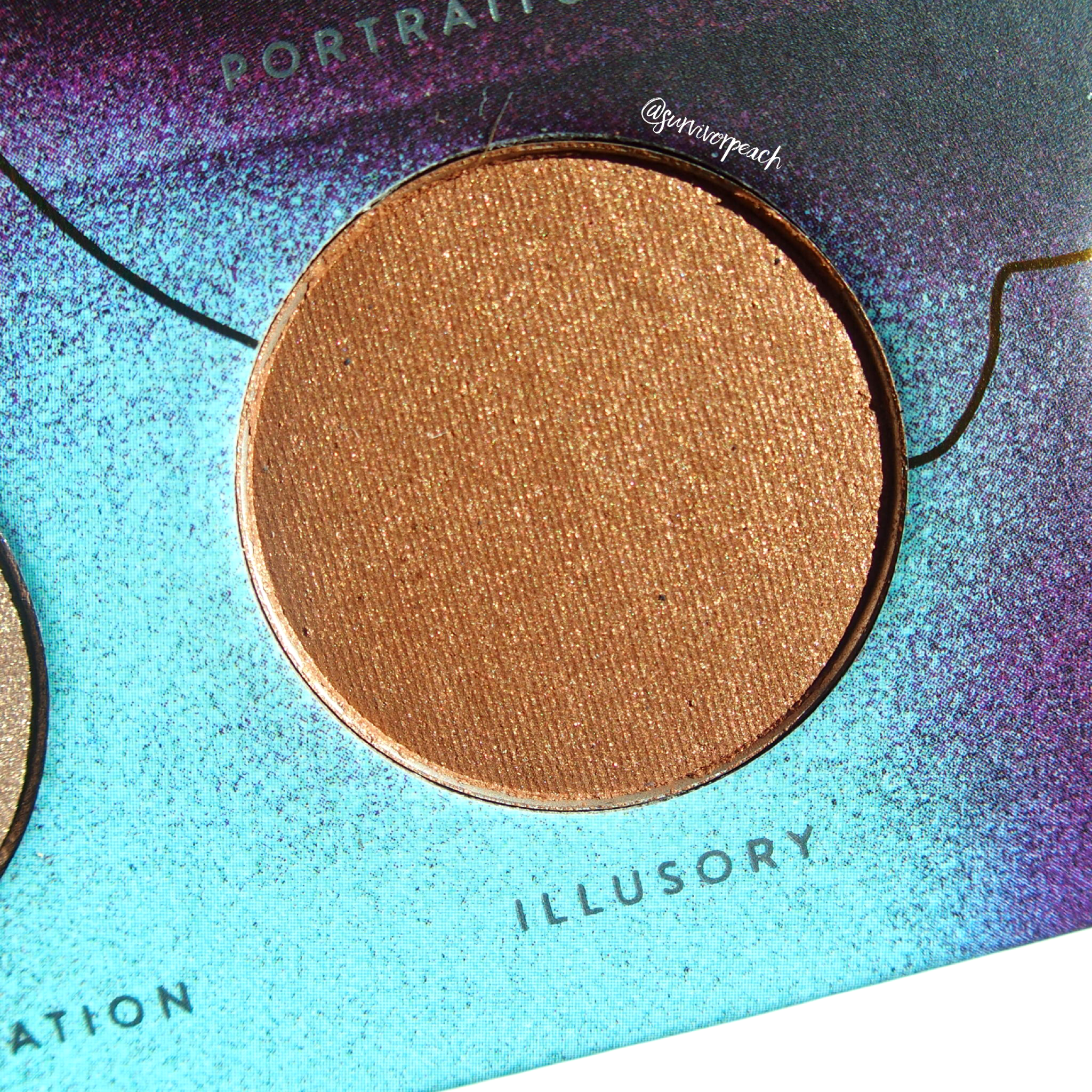 Zoeva Eclectric Eyes Eyeshadow palette - Illusory