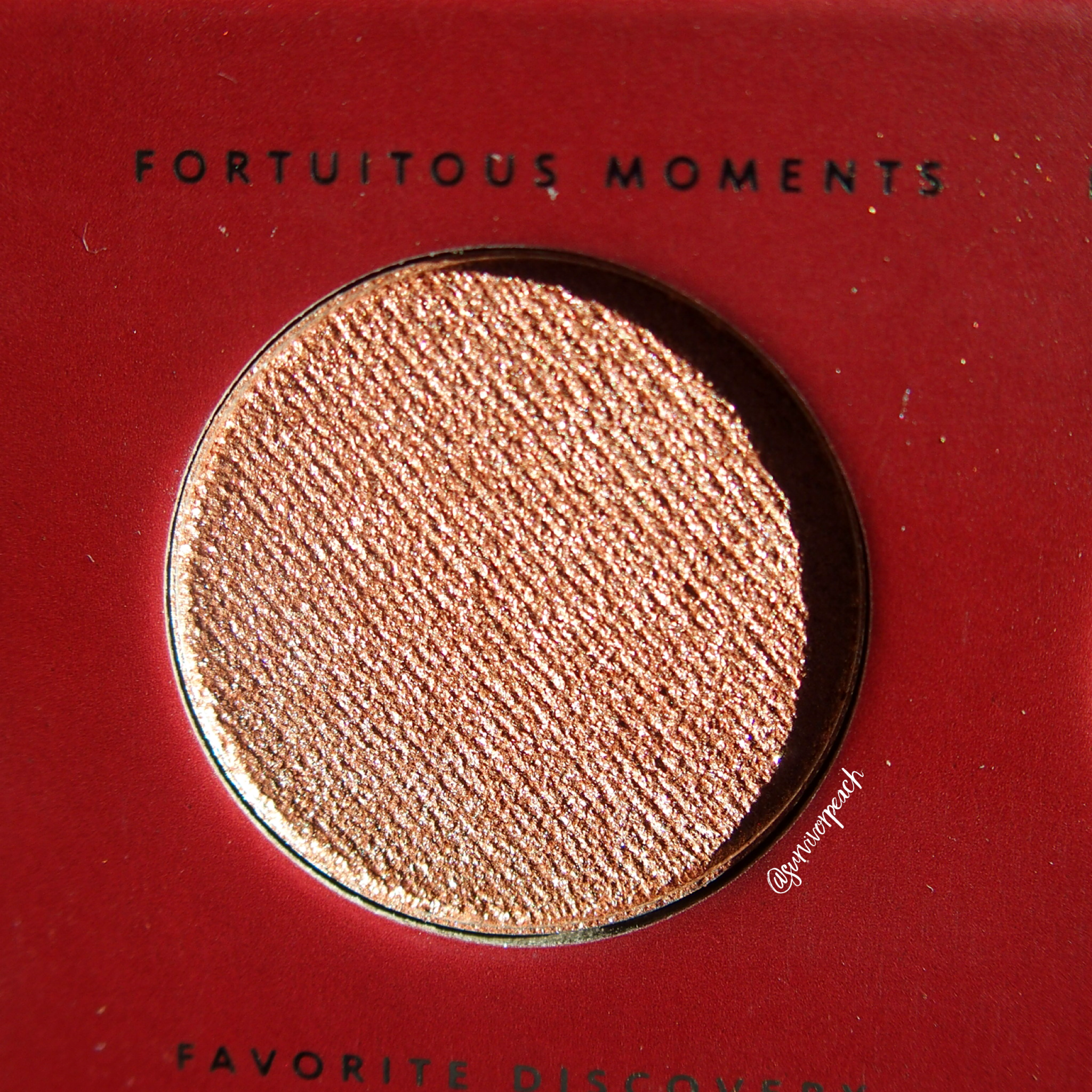 Zoeva Spice of Life Eyeshadow Palette - Fortuitous moments