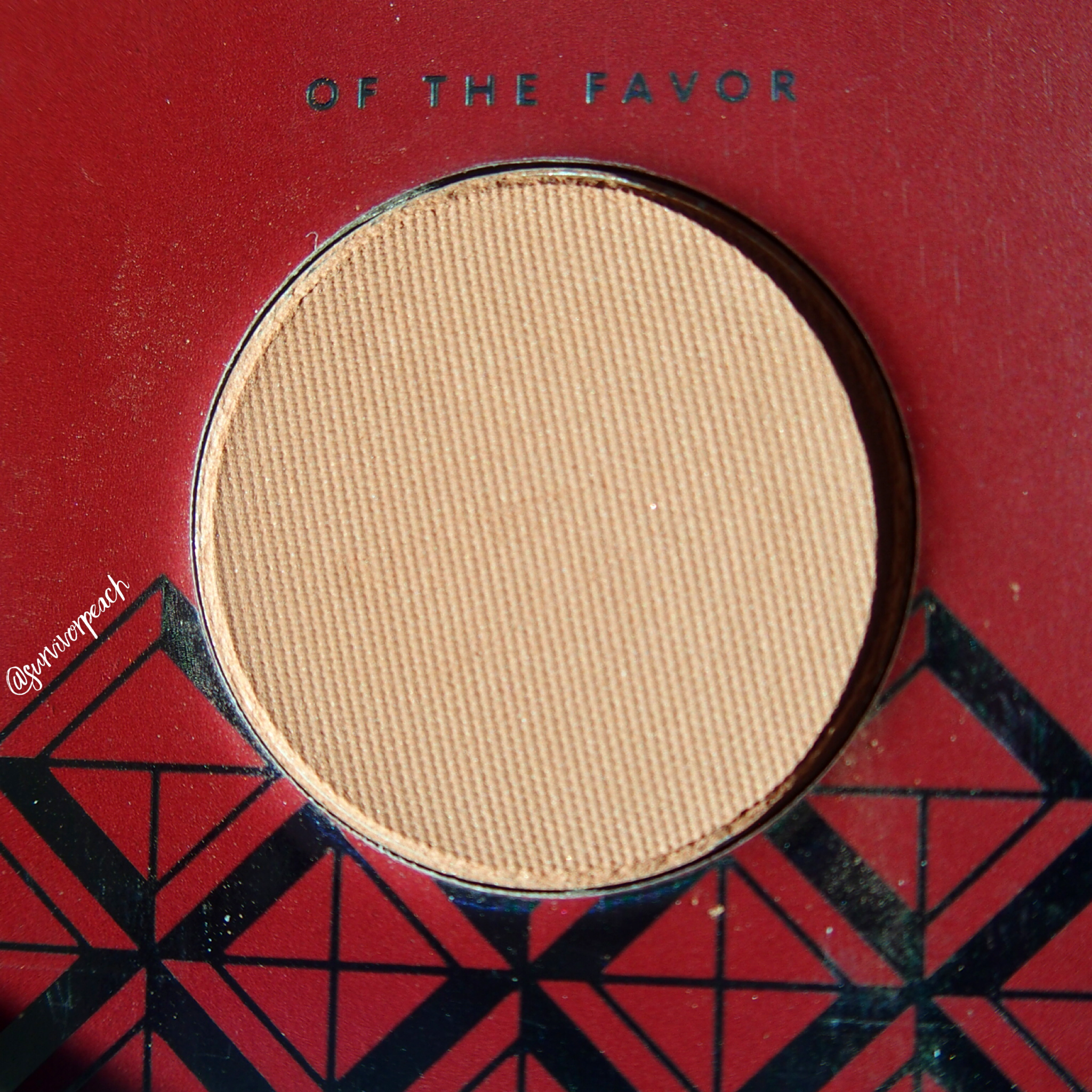 Zoeva Spice of Life Eyeshadow Palette -Of the Favor