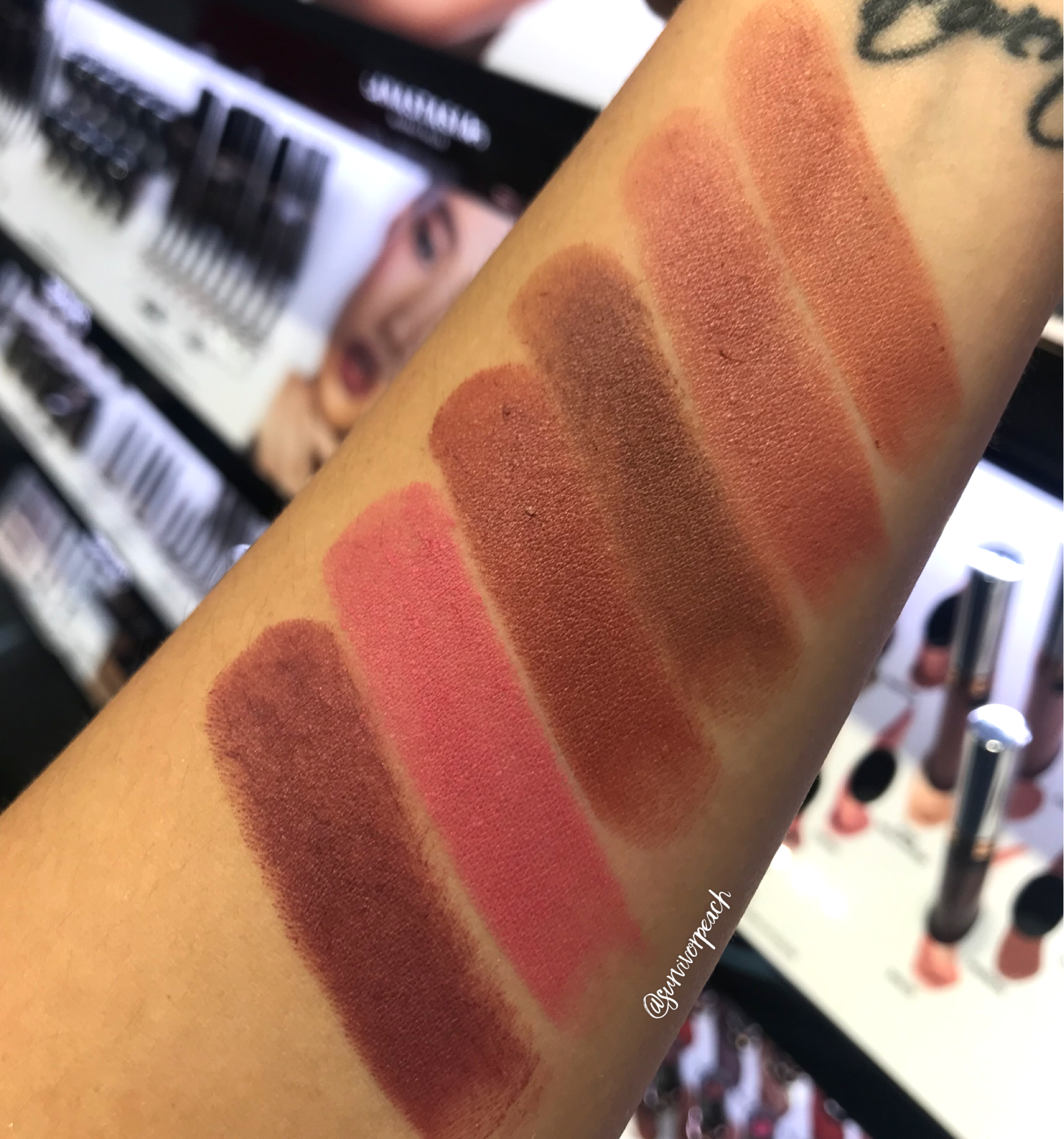 Anastasia Beverly Hill Matte Lipsticks Survivorpeach