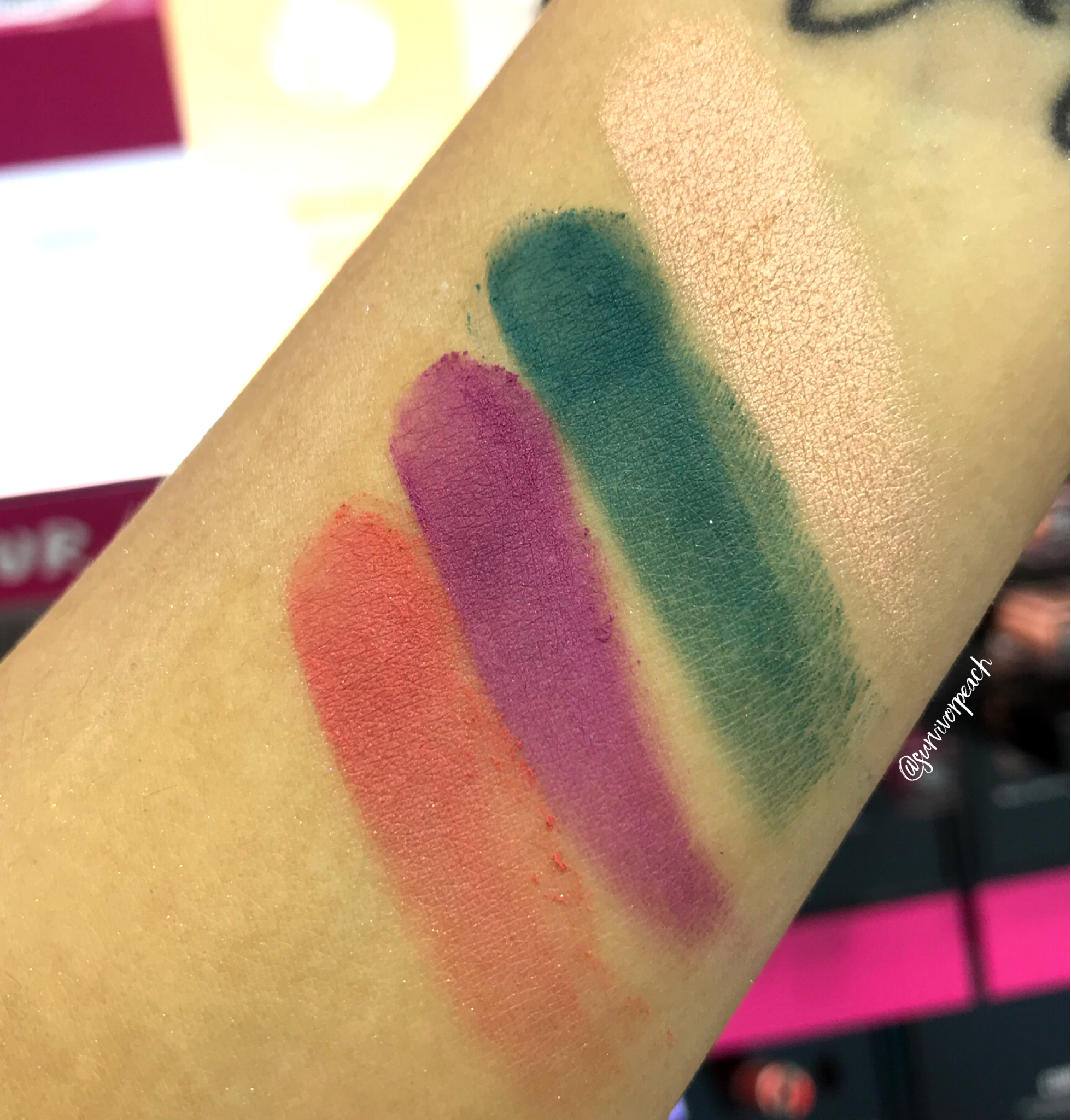 Smashbox L.A. Cover Shot Palette swatches