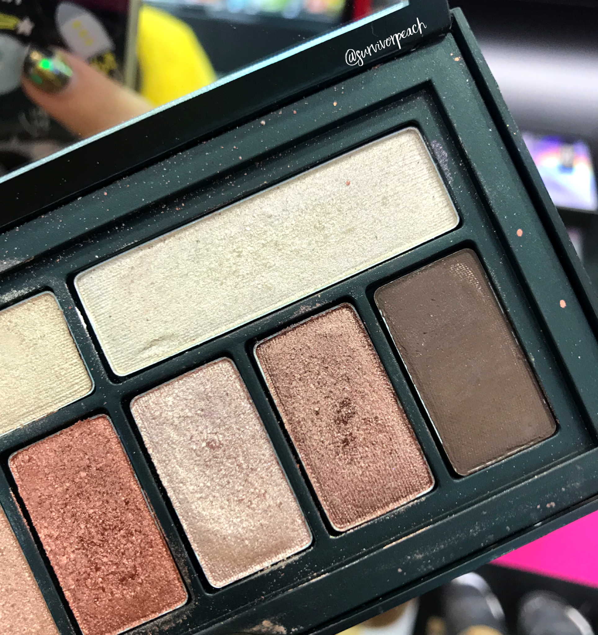 Smashbox Covershot Eyeshadow palette - Petal Metal