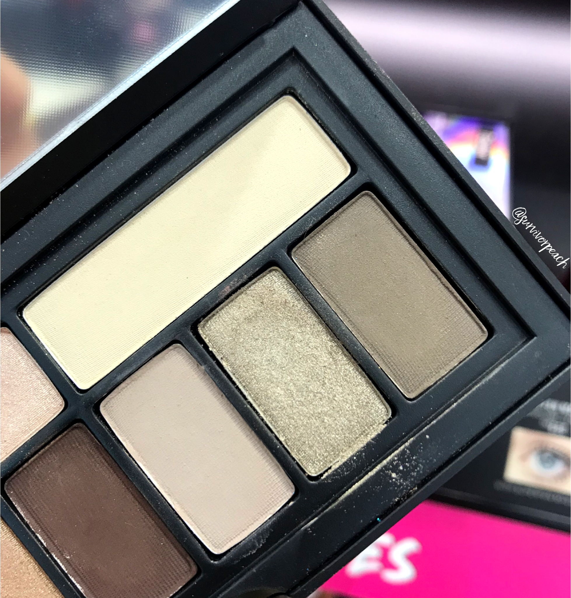Smashbox Covershot Eyeshadow palette - The Minimalist