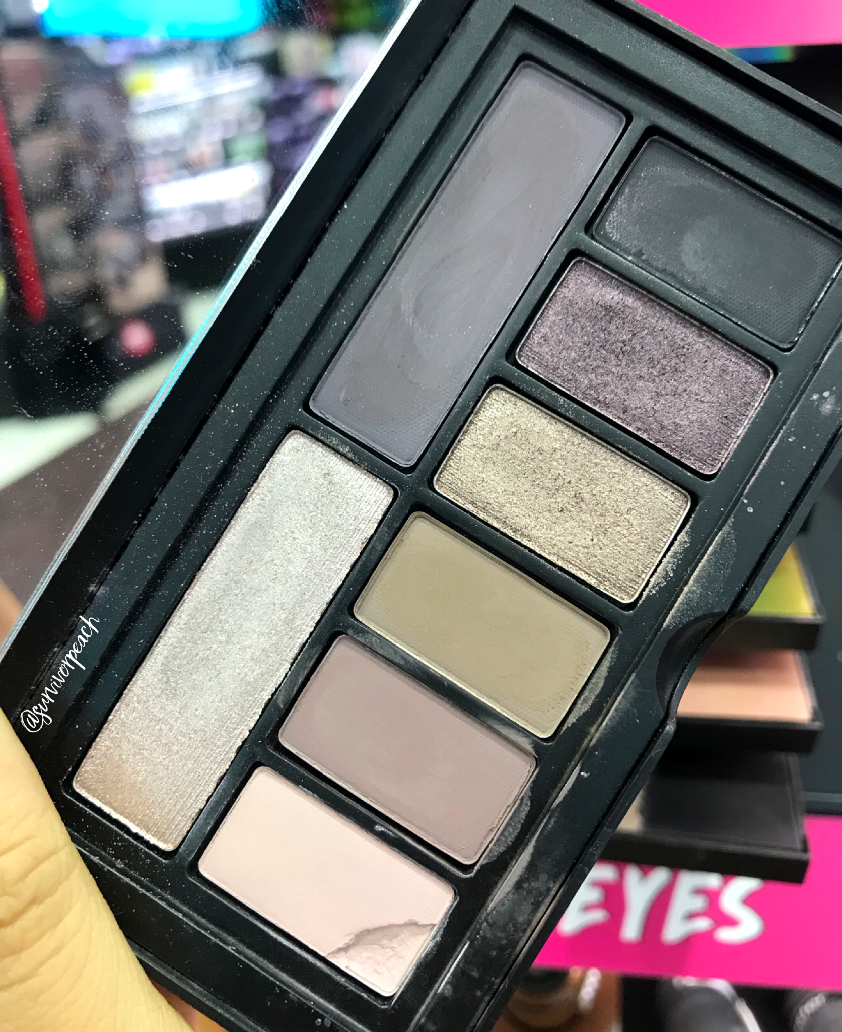 Smashbox Covershot palette: Punked