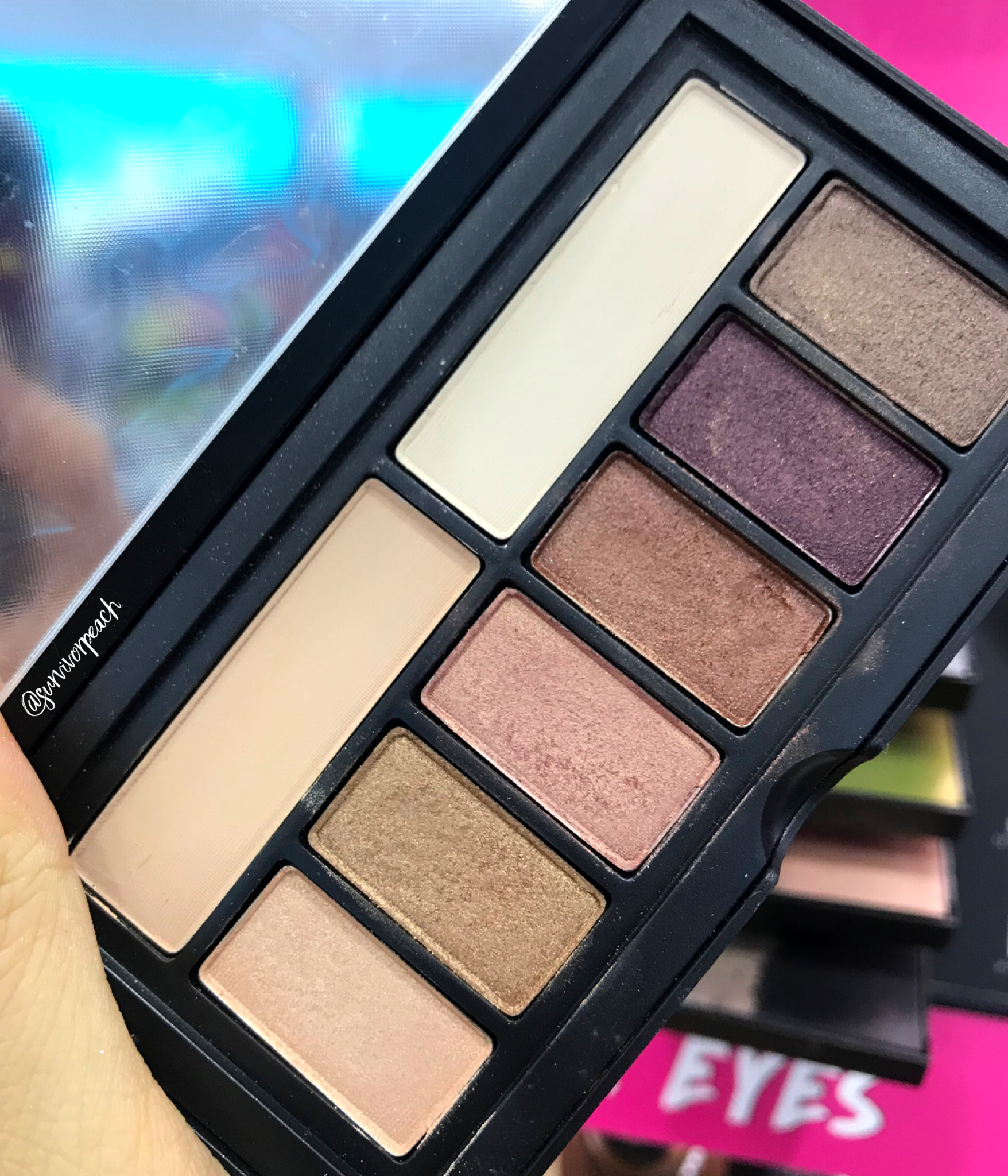 Smashbox Covershot palette: Golden Hour