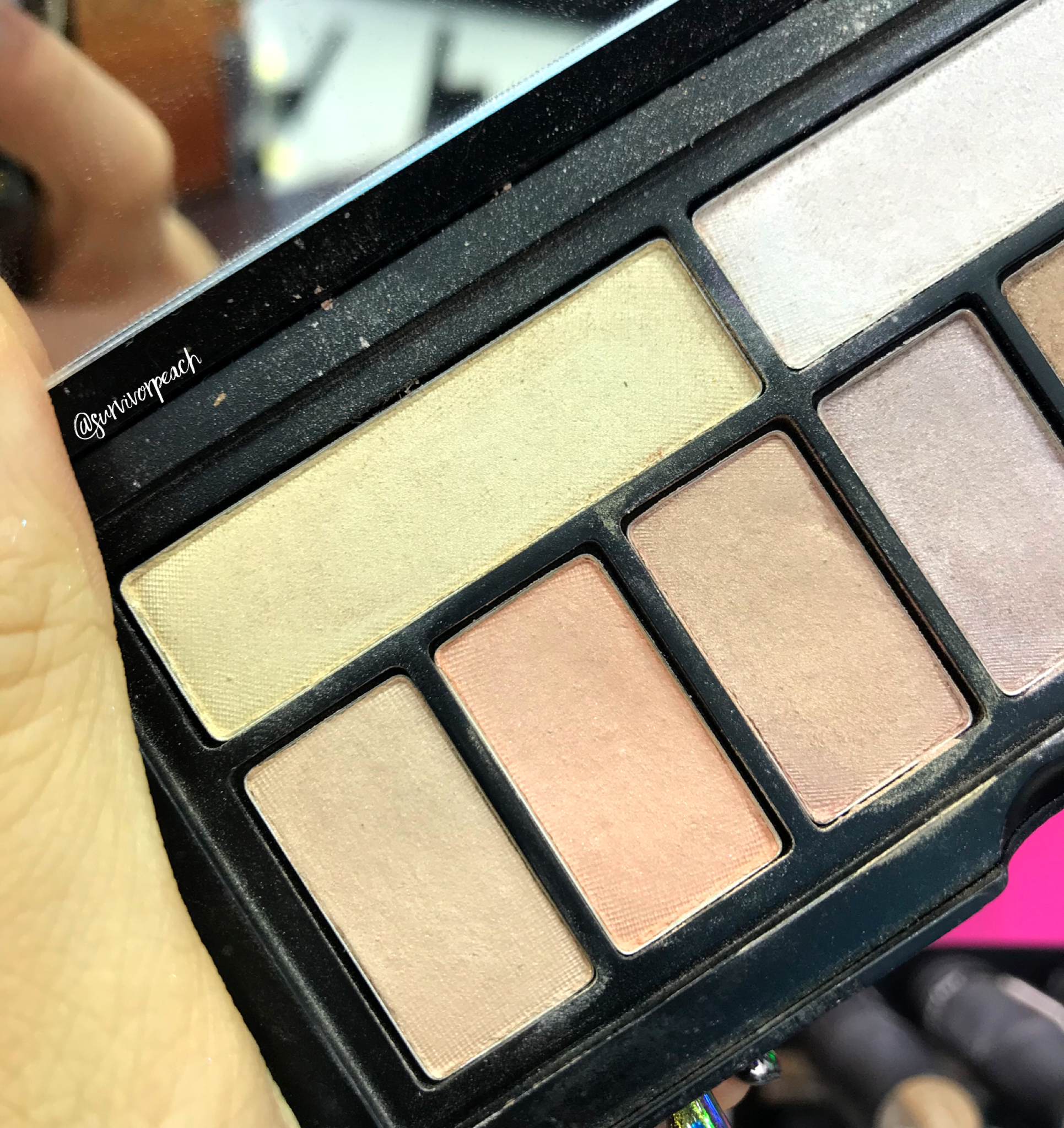 Smashbox Covershot palette: Softlight