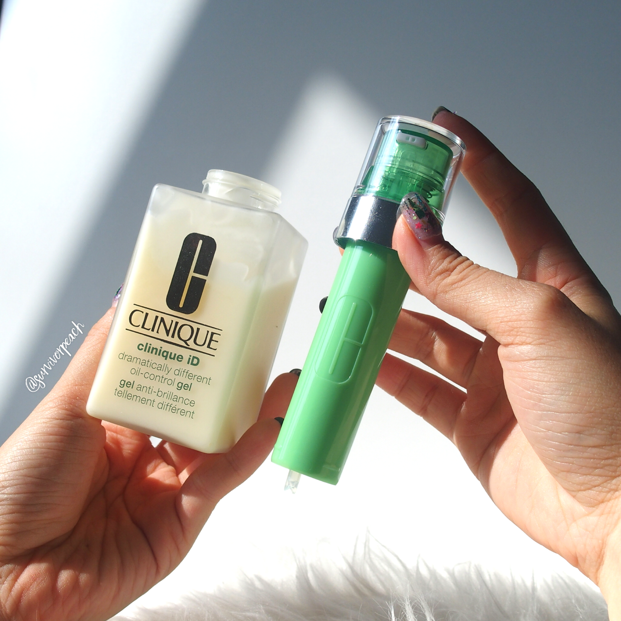 Clinique ID Oil Control Gel + Active Cartridge Concentrate for Irritation