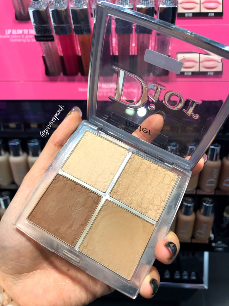 2d92268584 Dior Backstage Contour palette and Eyeshadow Palette swatches ...