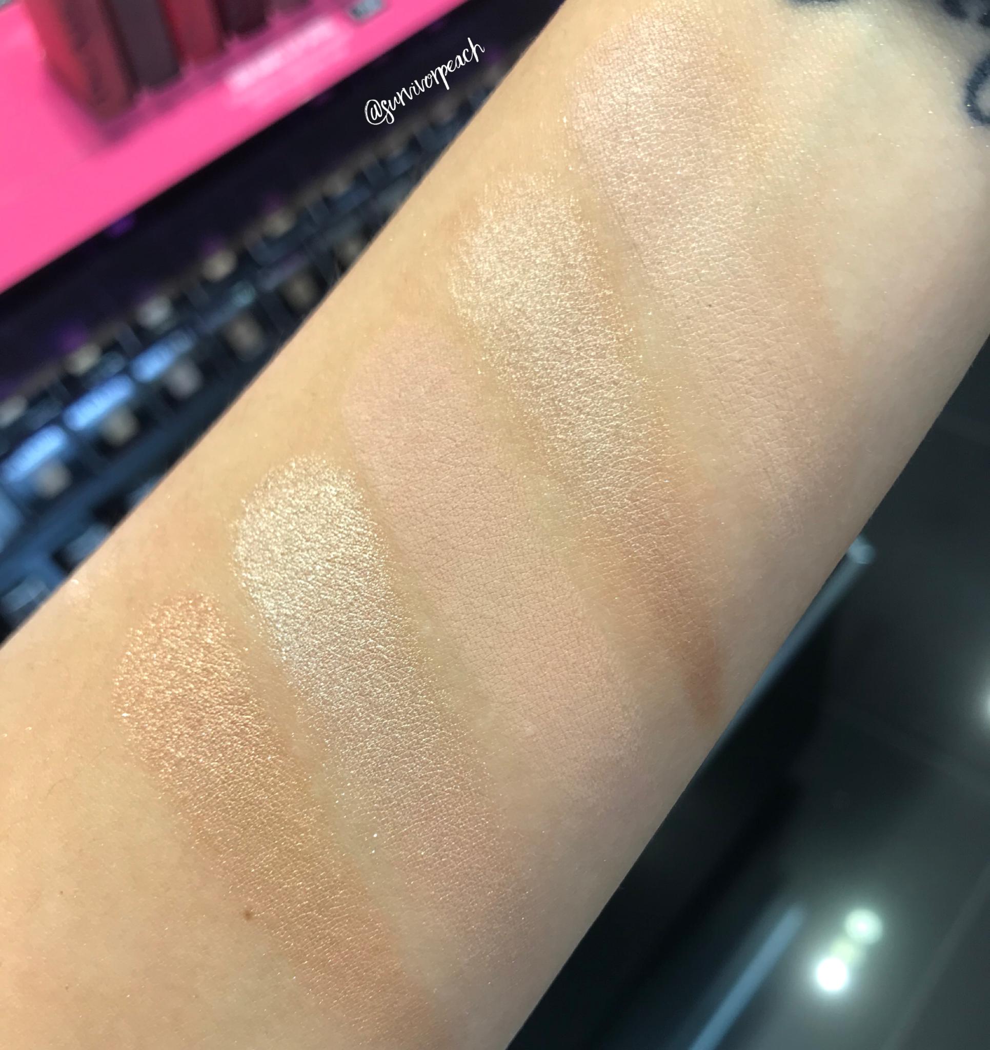 Dior Backstage Eye Palette- Warm Neutrals swatches