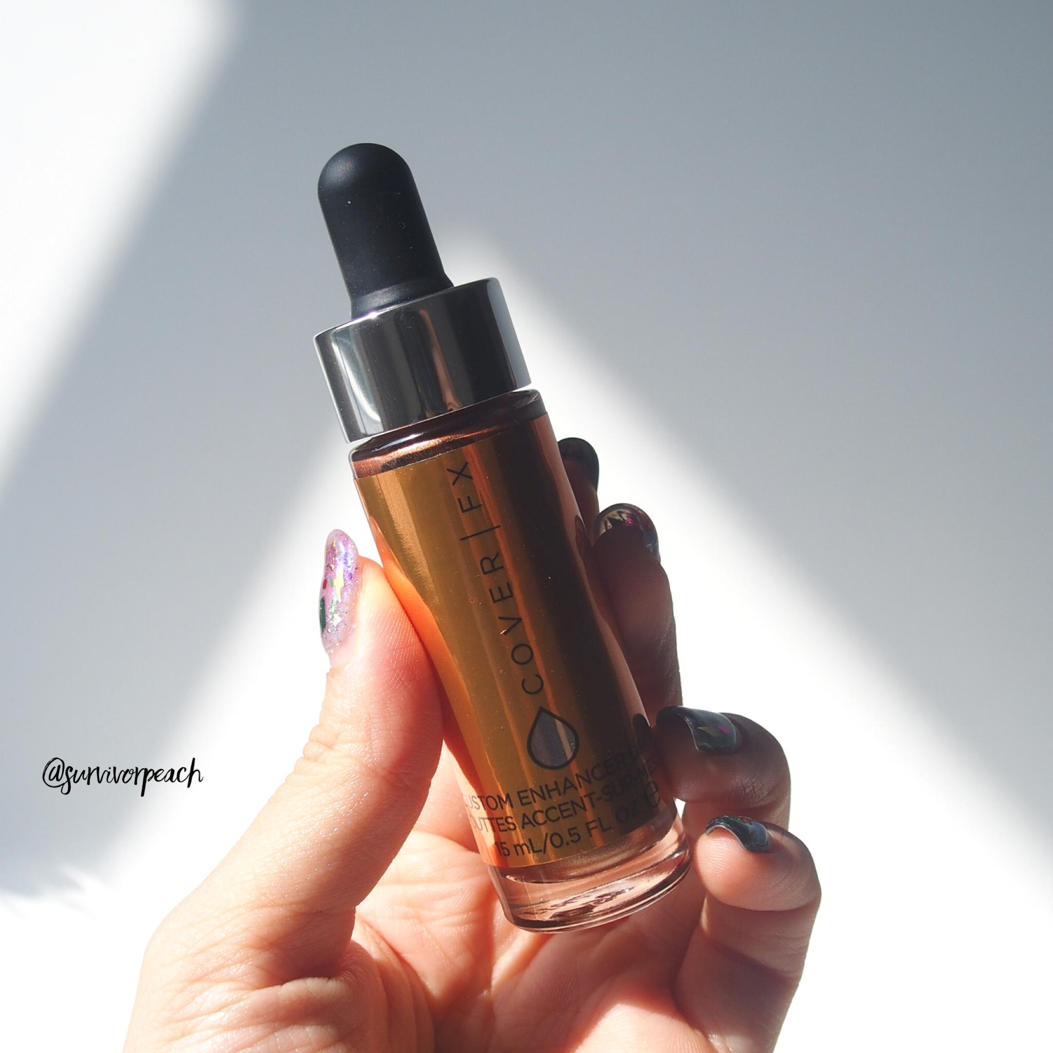 Cover FX Custom Enhancer Drops Sunlight