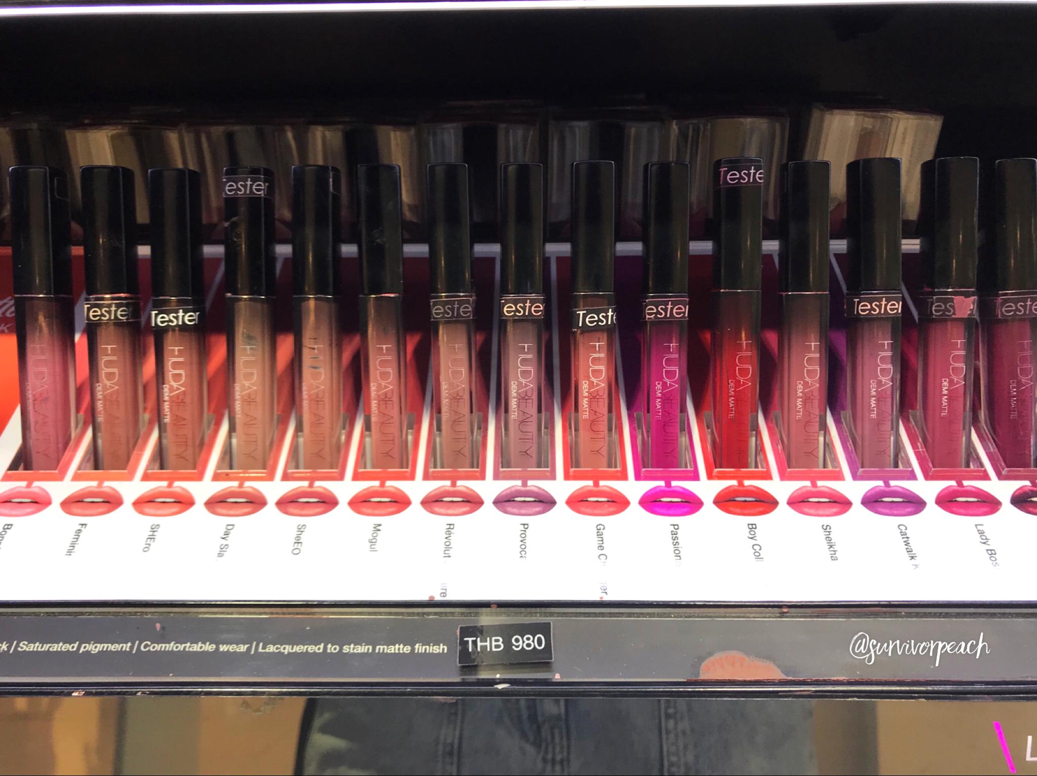 Huda Beauty Demi Matte Creme Lip