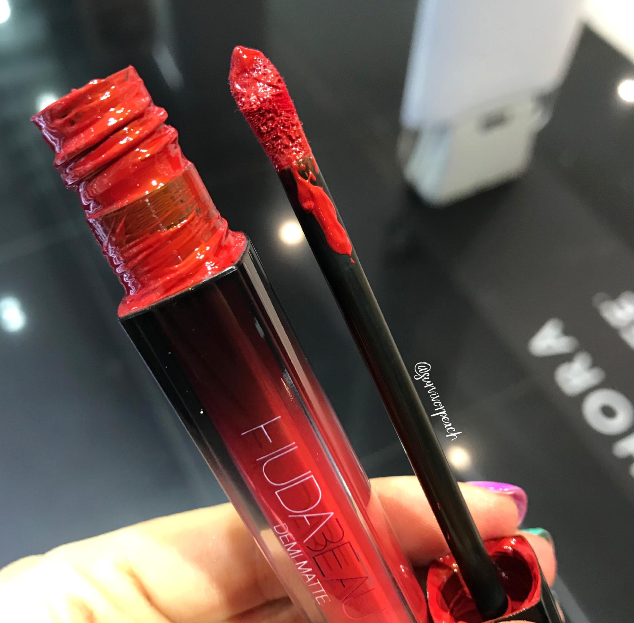 Huda Beauty Demi Matte Creme Lip - Boy Collector