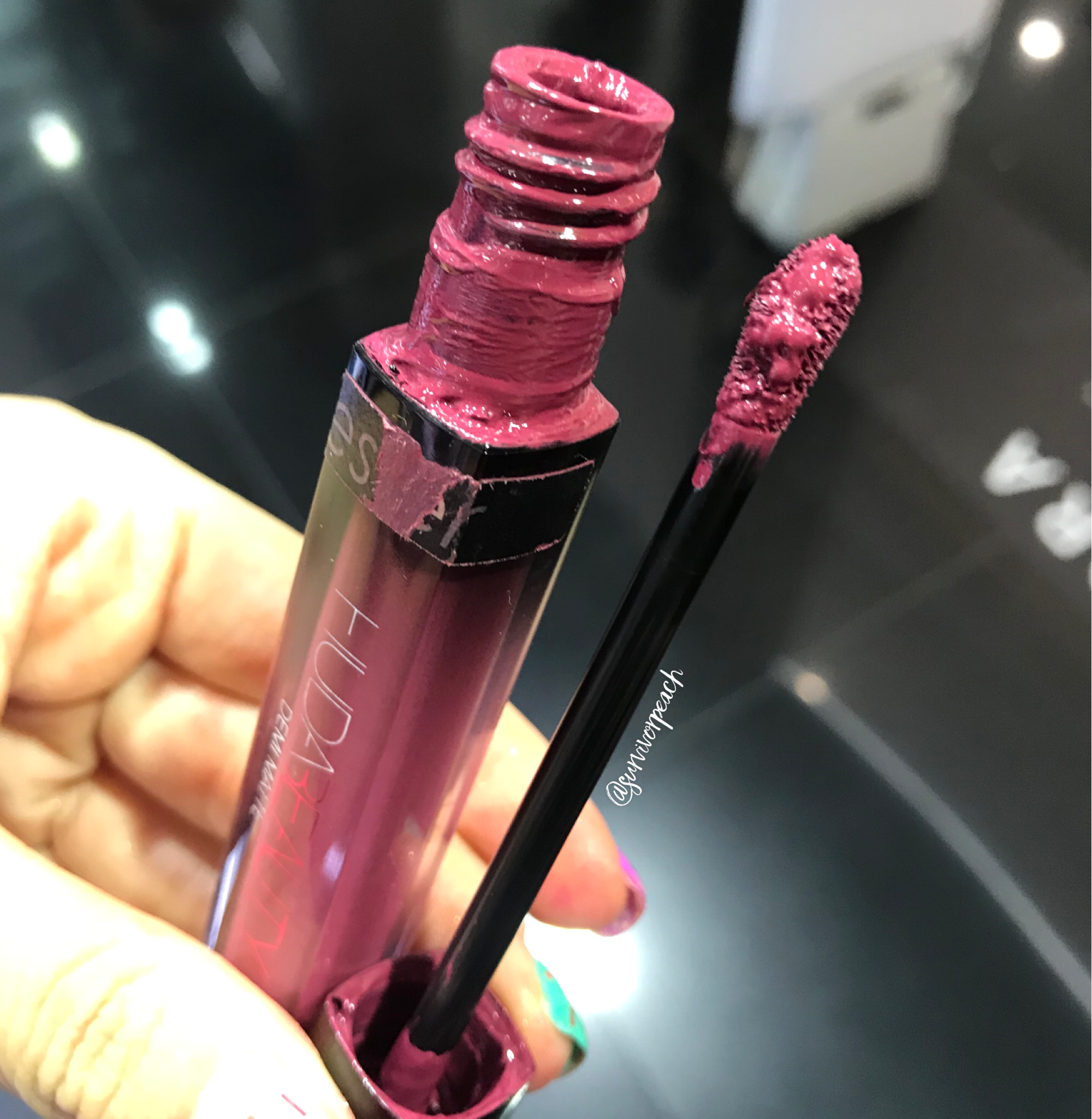 Huda Beauty Demi Matte Creme Lip - Lady Boss